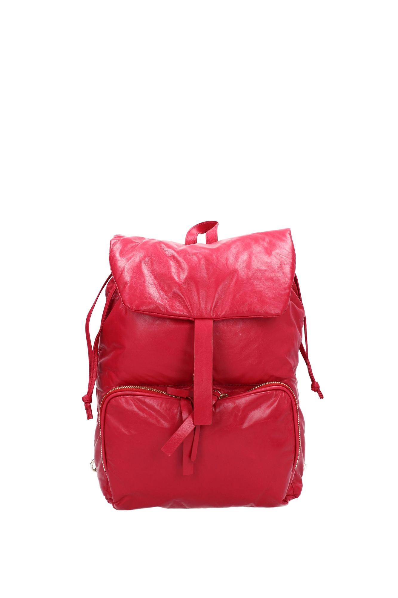tasche rucksack zanellato damen leder rot 062778471 ebay. Black Bedroom Furniture Sets. Home Design Ideas