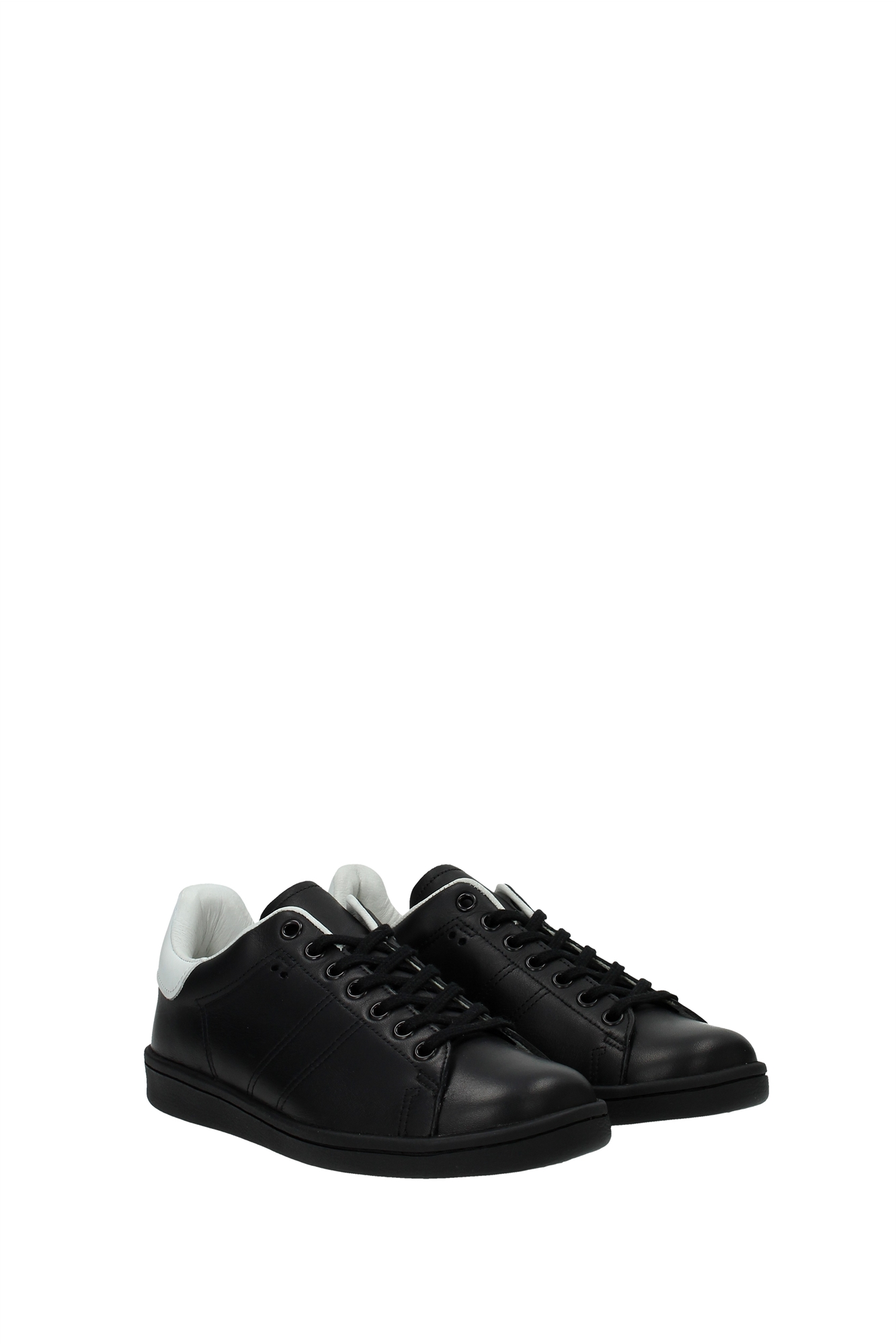 sneakers isabel marant damen leder schwarz bk002515a029sblack ebay. Black Bedroom Furniture Sets. Home Design Ideas