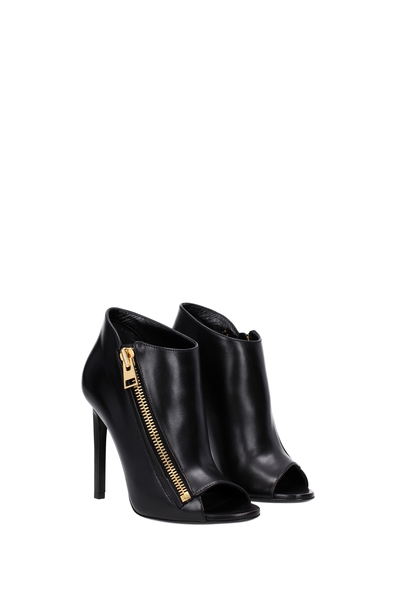 ankle boots tom ford leather black 215w1478tscablk