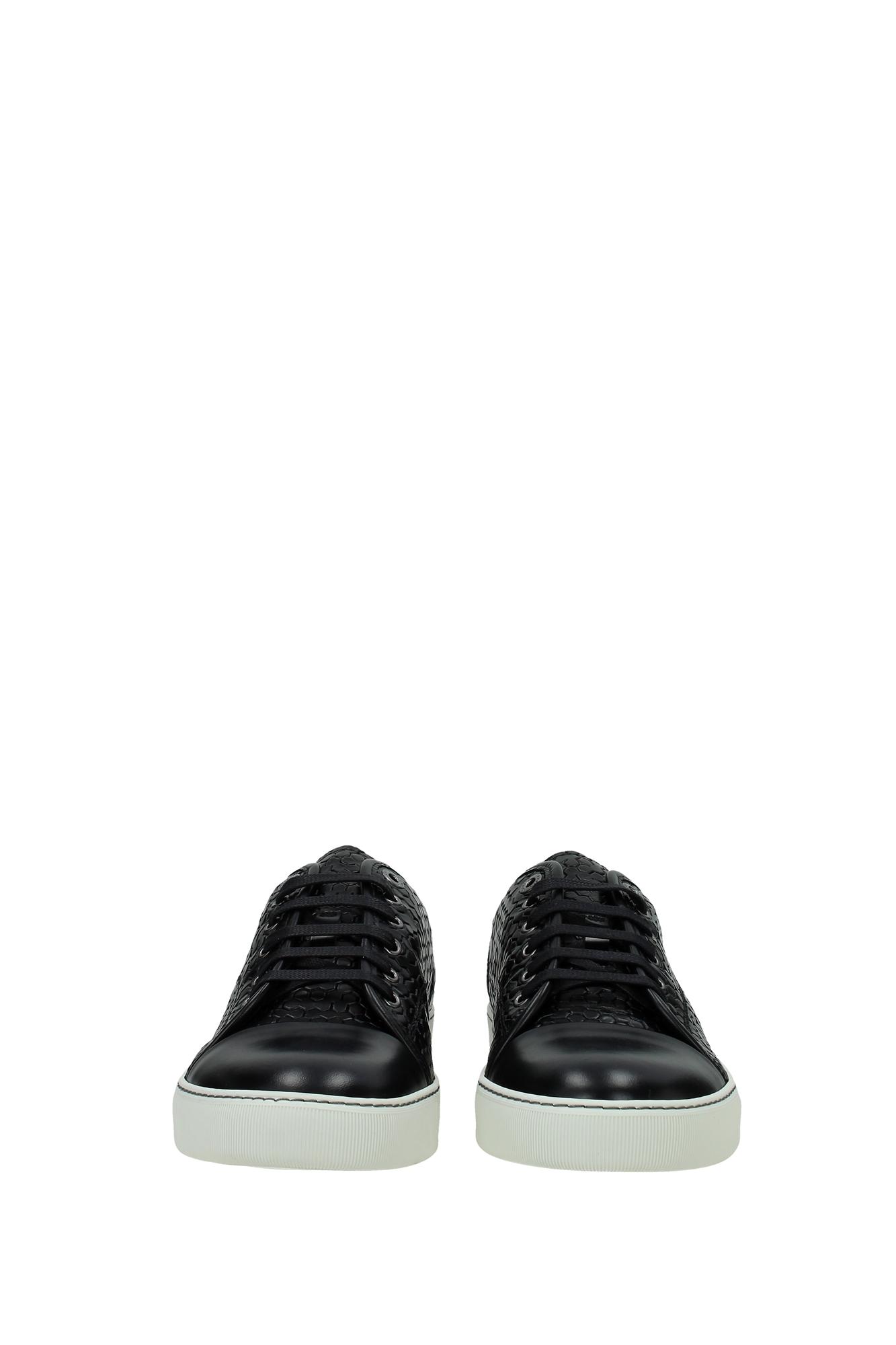 Sneakers lanvin herren leder schwarz fmskdbb1vlela1510 ebay for Kuchenstuhle leder schwarz