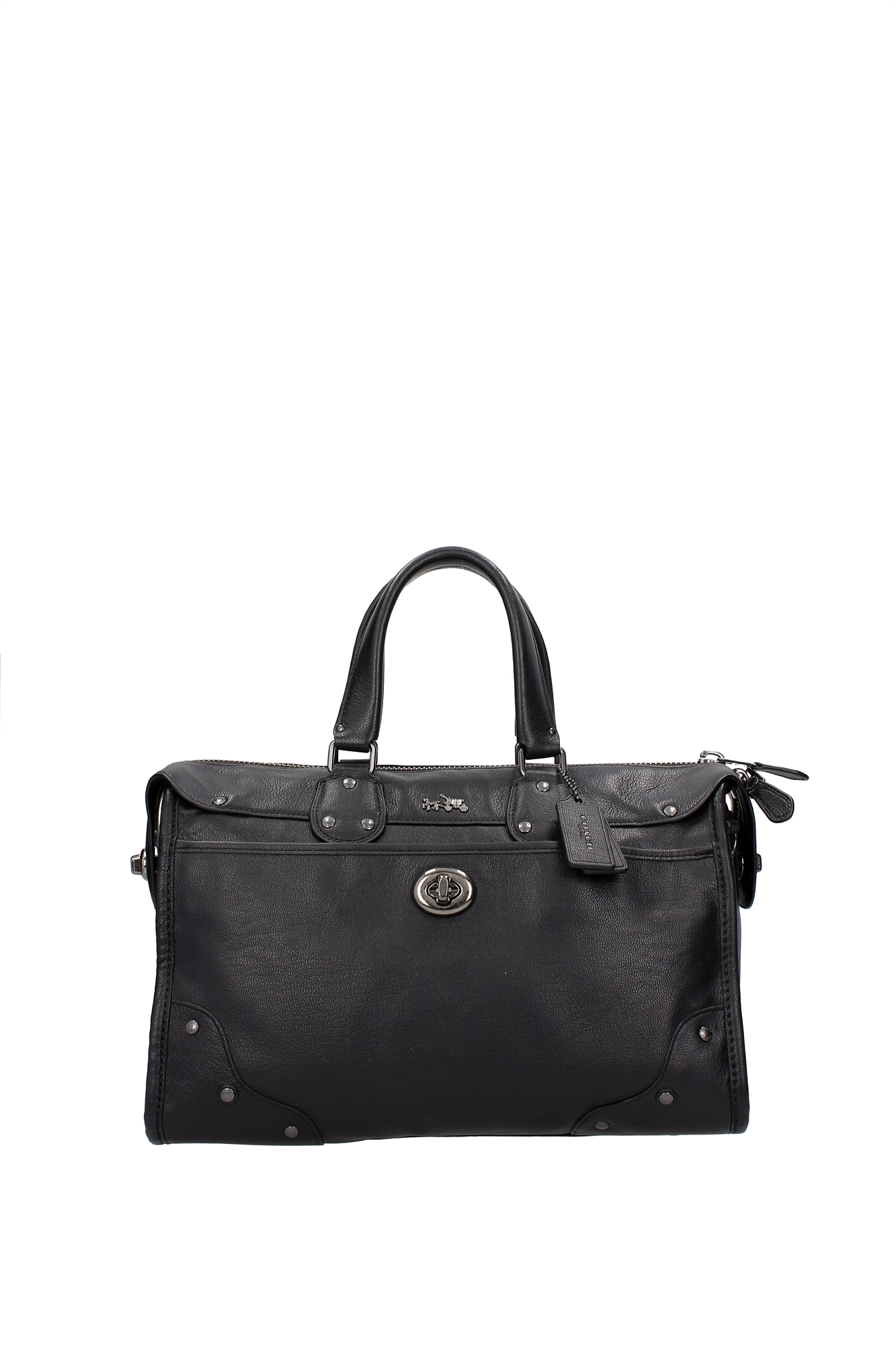 New Hamilton Womenu0026#39;s Large Leather Tote Bag Black