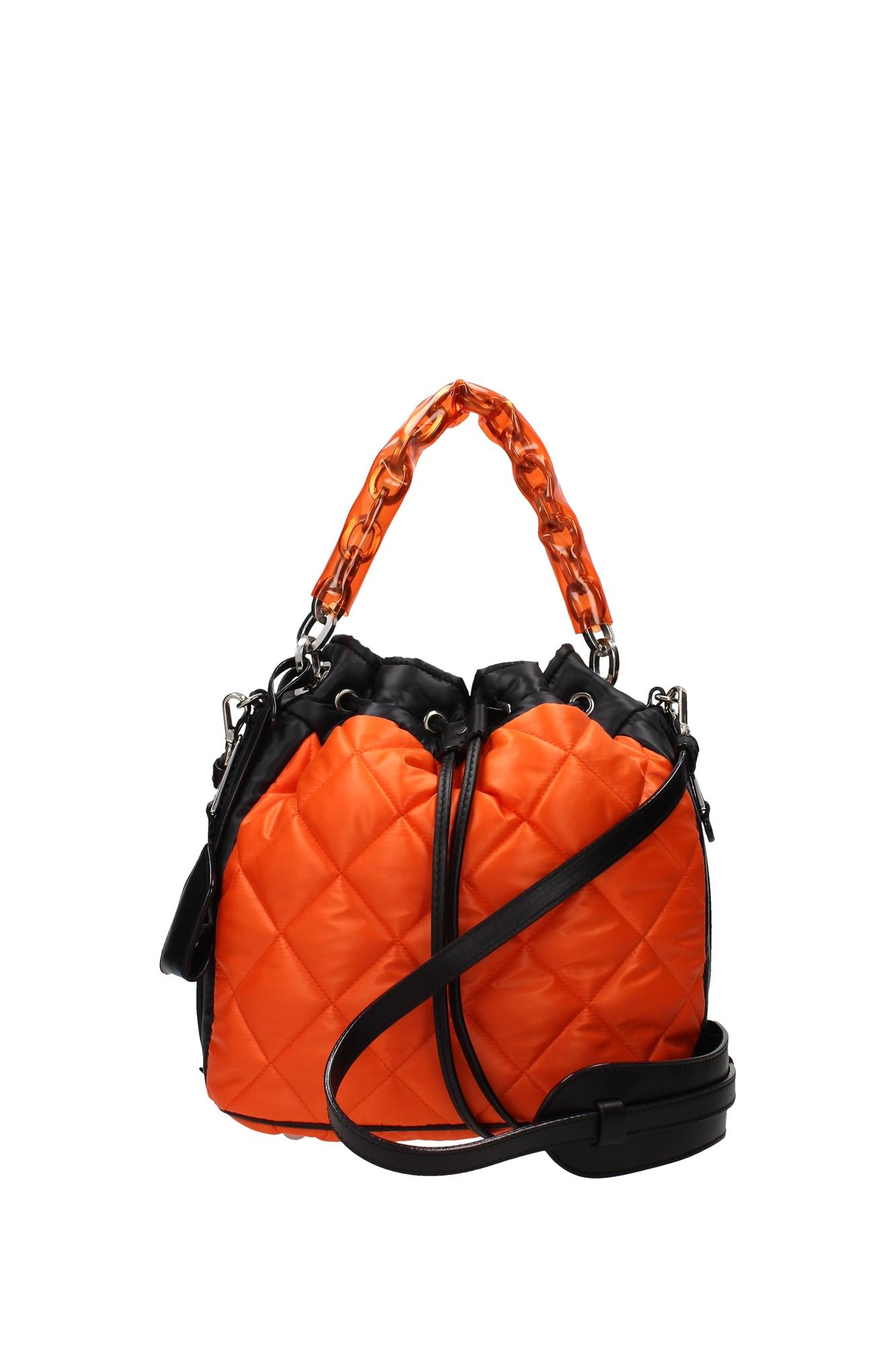 Borse A Mano Moschino : Borse a mano moschino donna poliammide arancio