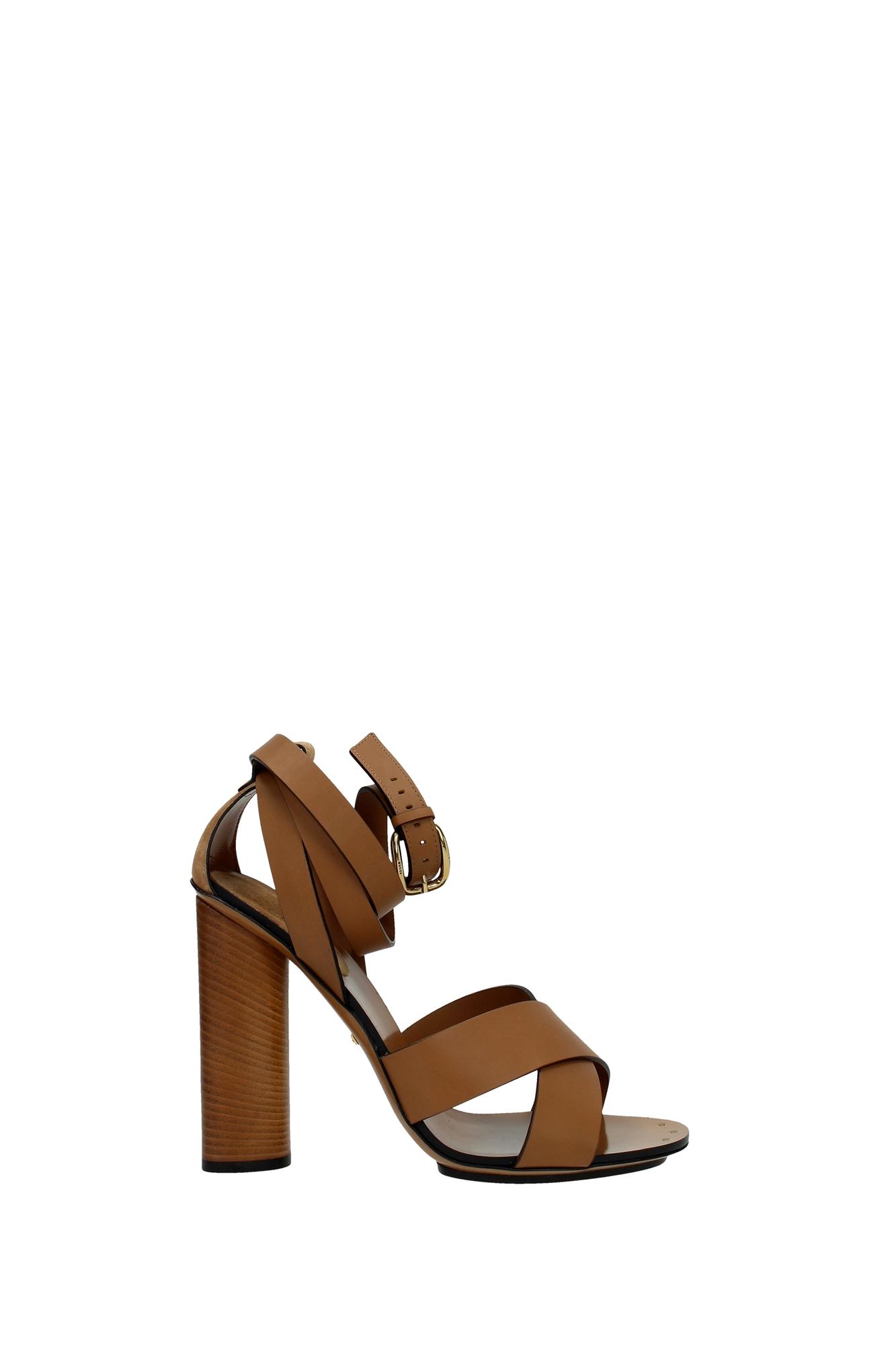 sandalen gucci damen leder braun 381393aemt02613 ebay. Black Bedroom Furniture Sets. Home Design Ideas