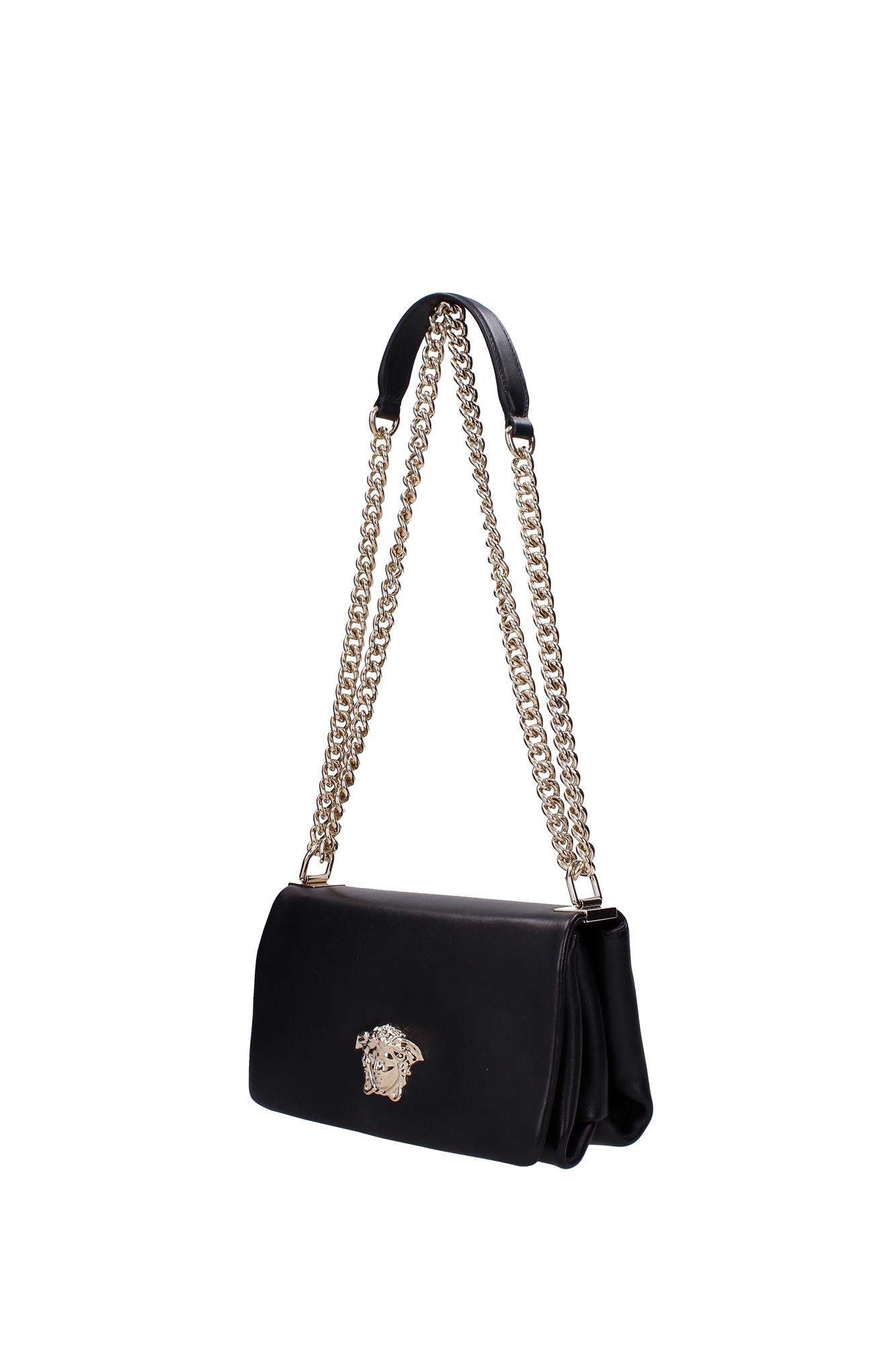 Satchels Versace Women Leather Black DBFF160DNAPP1D41OC
