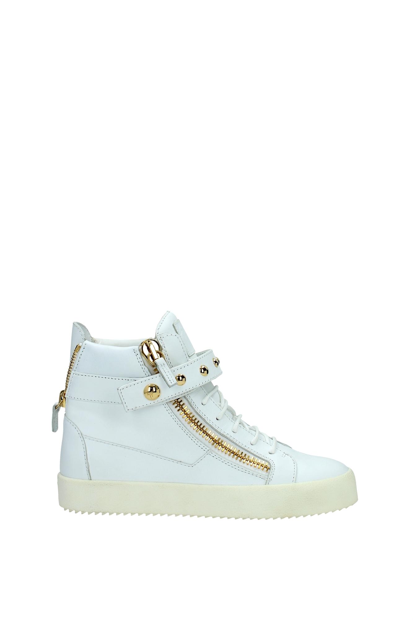 sneakers giuseppe zanotti leather white