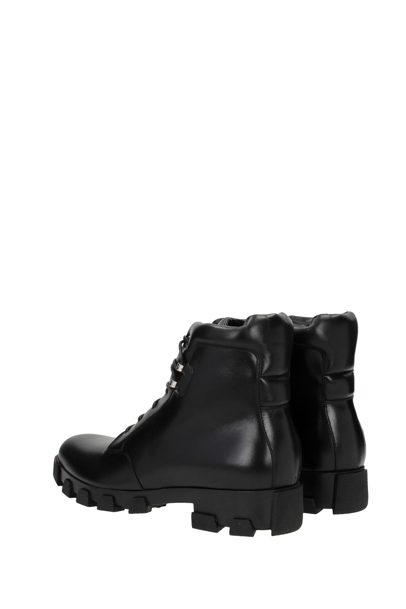 Ankle Boots Balenciaga Men Leather Black 391235WAV921000 | eBay