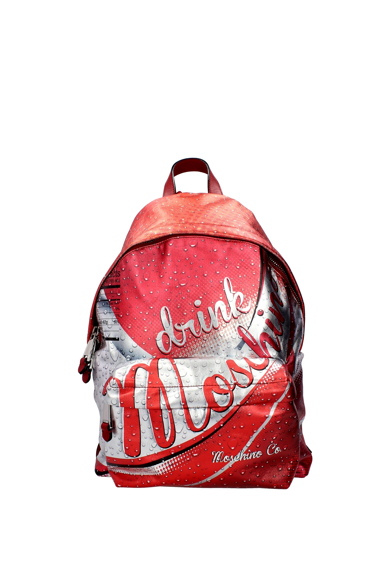 tasche rucksack moschino unisex leder rot 7a760680081112 ebay. Black Bedroom Furniture Sets. Home Design Ideas