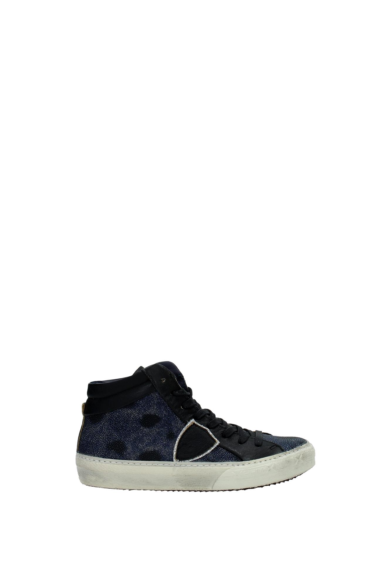 sneakers philippe model damen leder blau mdhdgx01 ebay. Black Bedroom Furniture Sets. Home Design Ideas