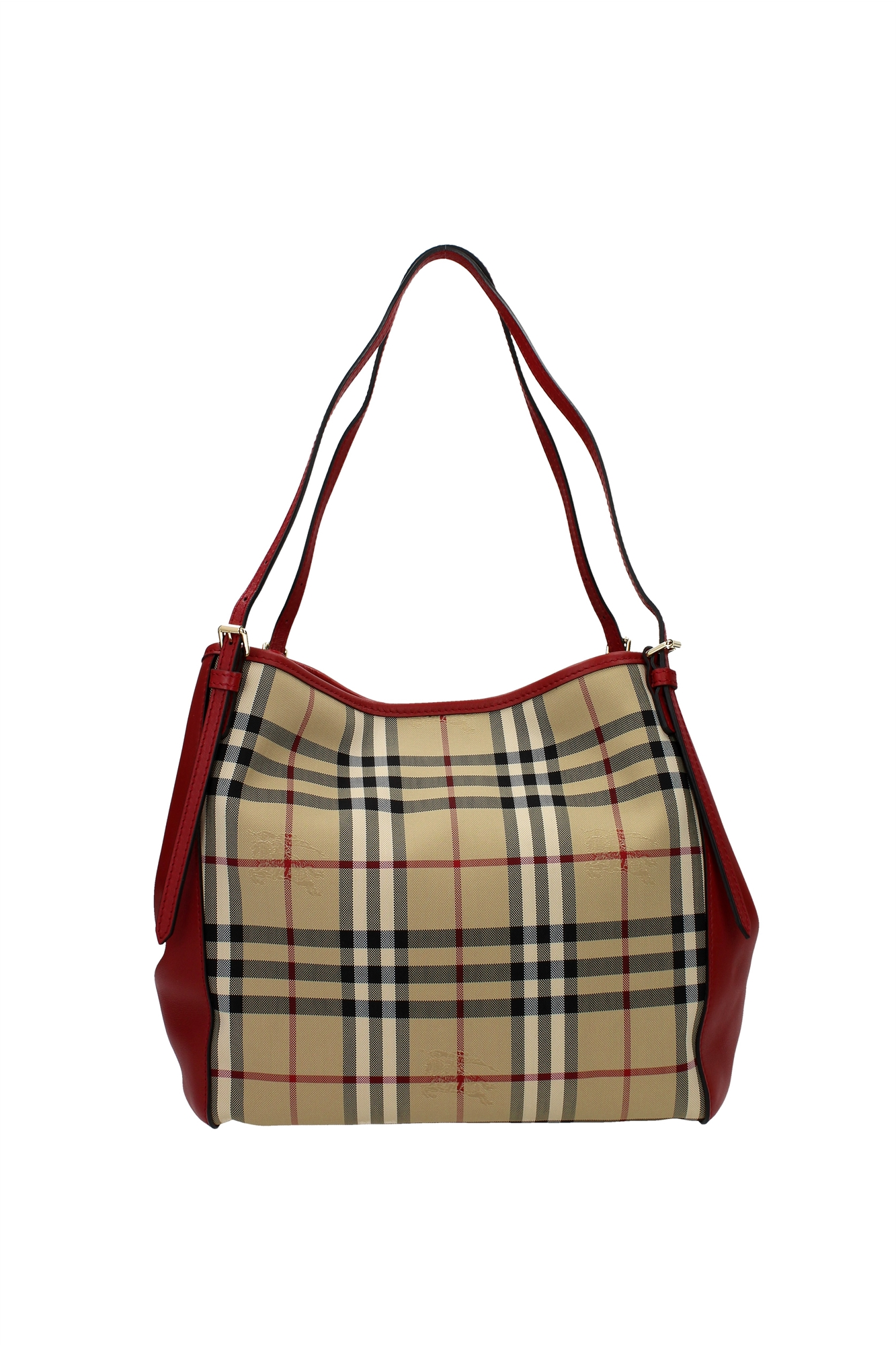 Shoulder Bags Burberry Women Polyamide Red 3939898 | eBay