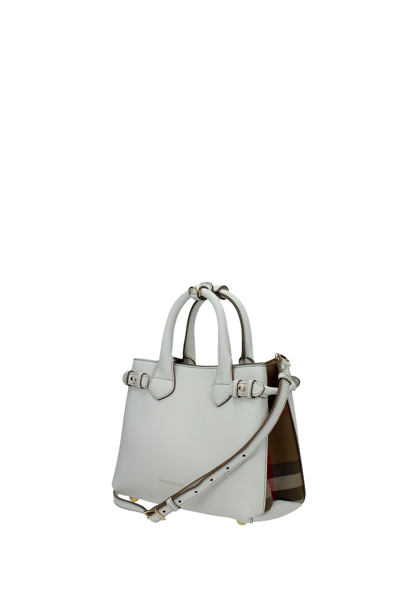 Elegant Details About Hand Bags Burberry Women Polyamide Brown 3939335