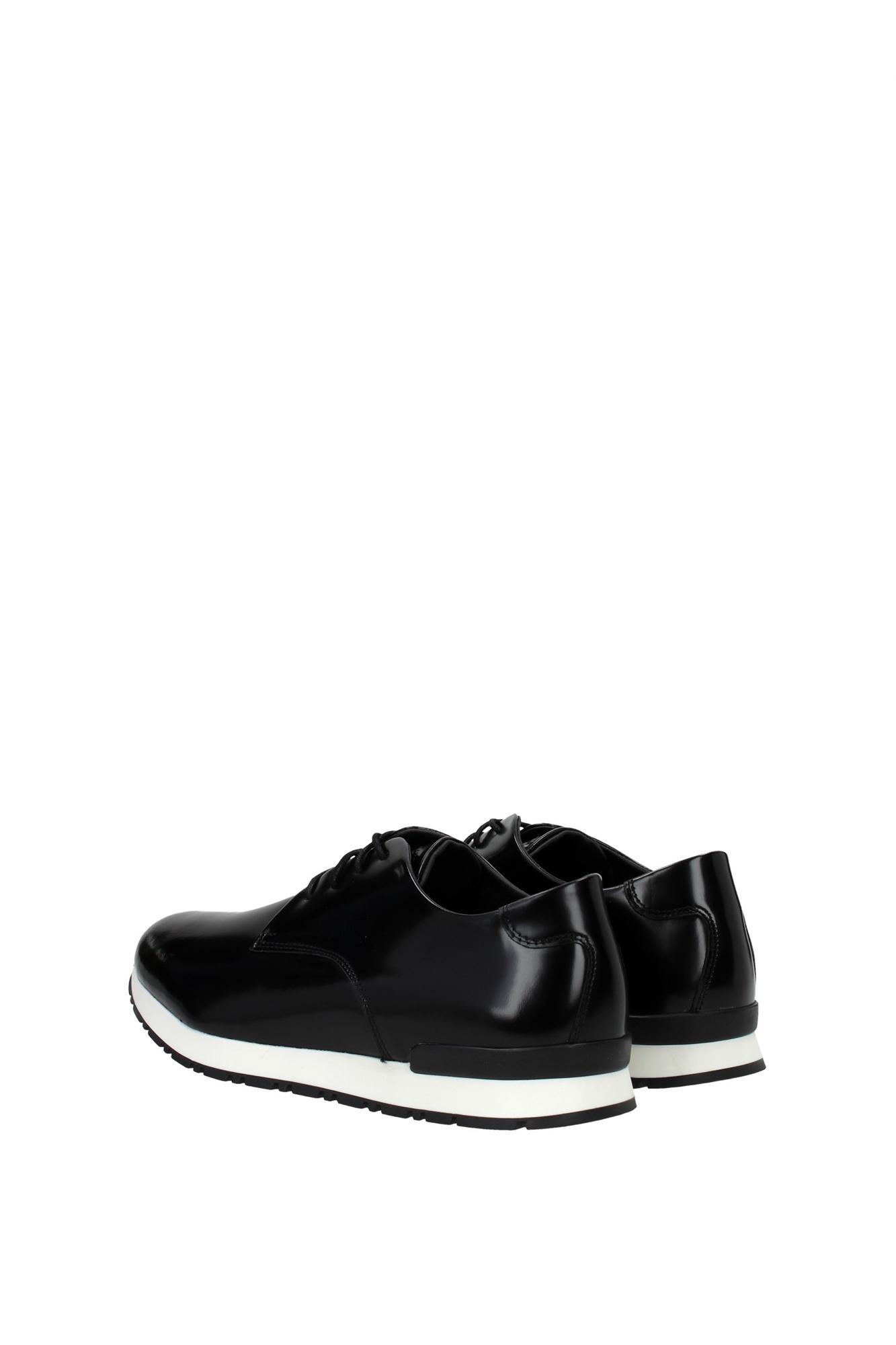 lace up shoes armani collezioni leather black bi5241612