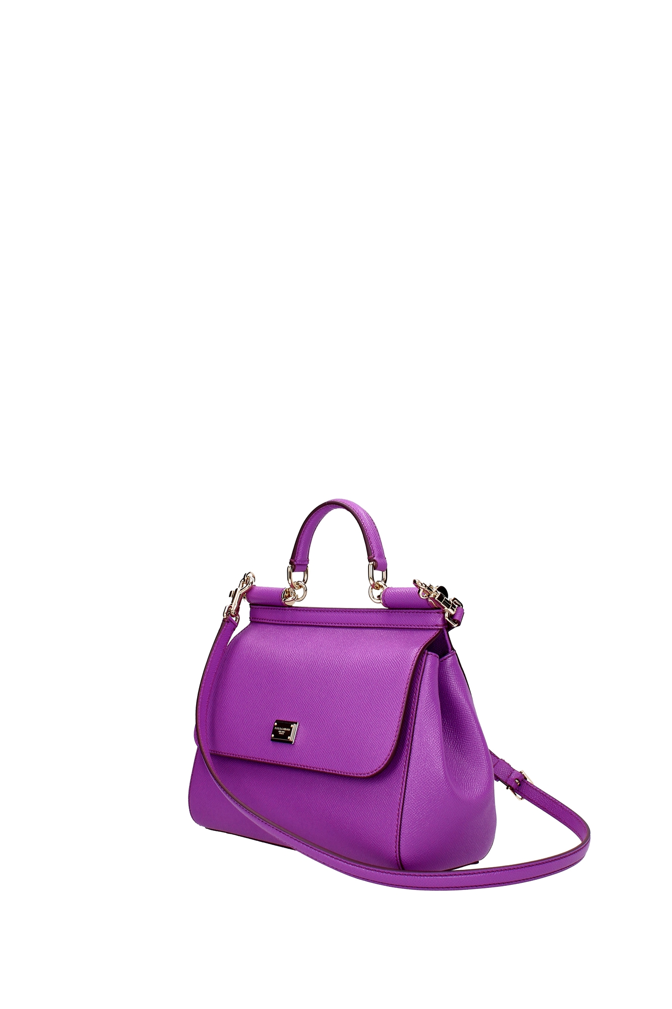 Hand Bags Dolce&Gabbana Women Leather Violet BB6002A100180434