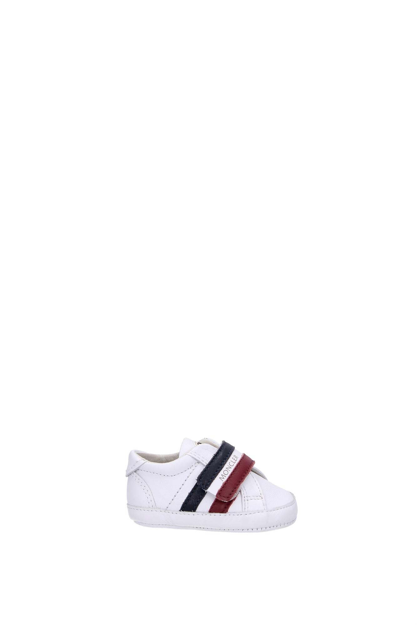 Sneakers-Moncler-Bambino-Pelle-Bianco-PUXA91E070C10101