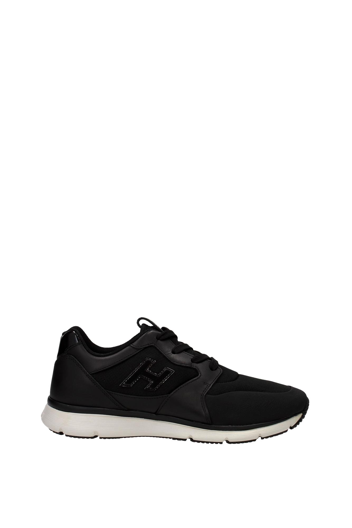 sneakers hogan herren stoff schwarz hxm2540u140cqkb999 ebay. Black Bedroom Furniture Sets. Home Design Ideas