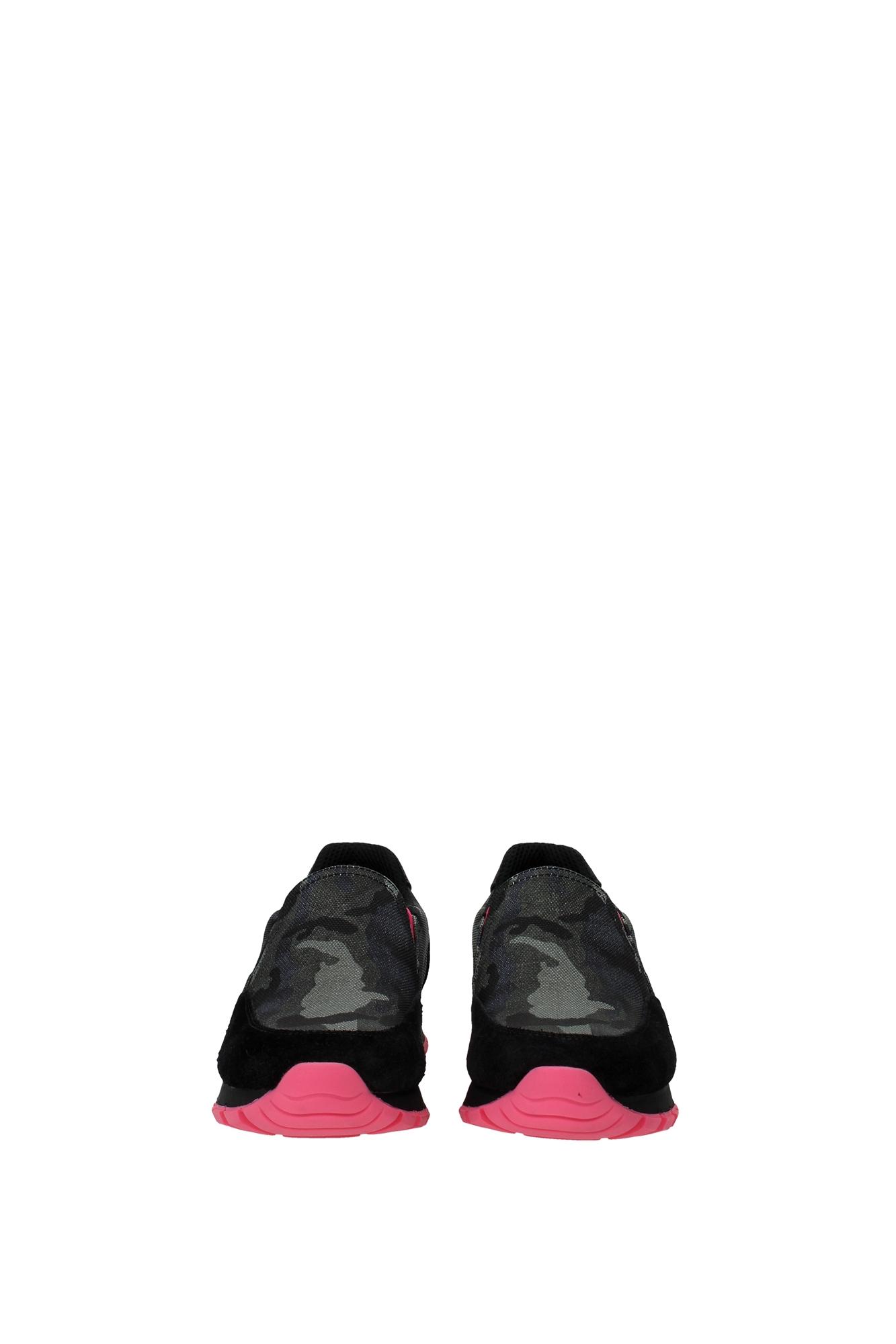 sneakers prada damen stoff gr n 3s5947pink ebay. Black Bedroom Furniture Sets. Home Design Ideas