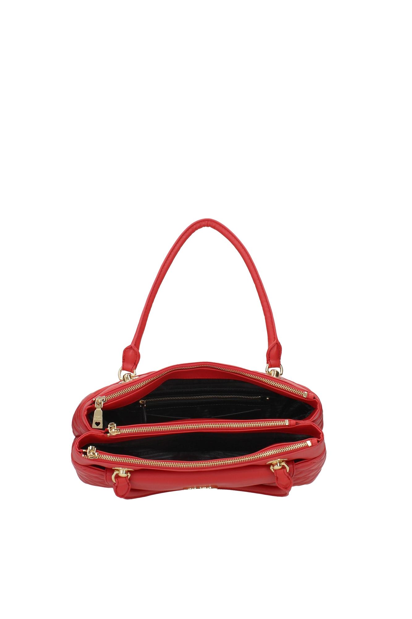 handtasche love moschino damen polyurethan rot jc4004pp12la0500 ebay. Black Bedroom Furniture Sets. Home Design Ideas