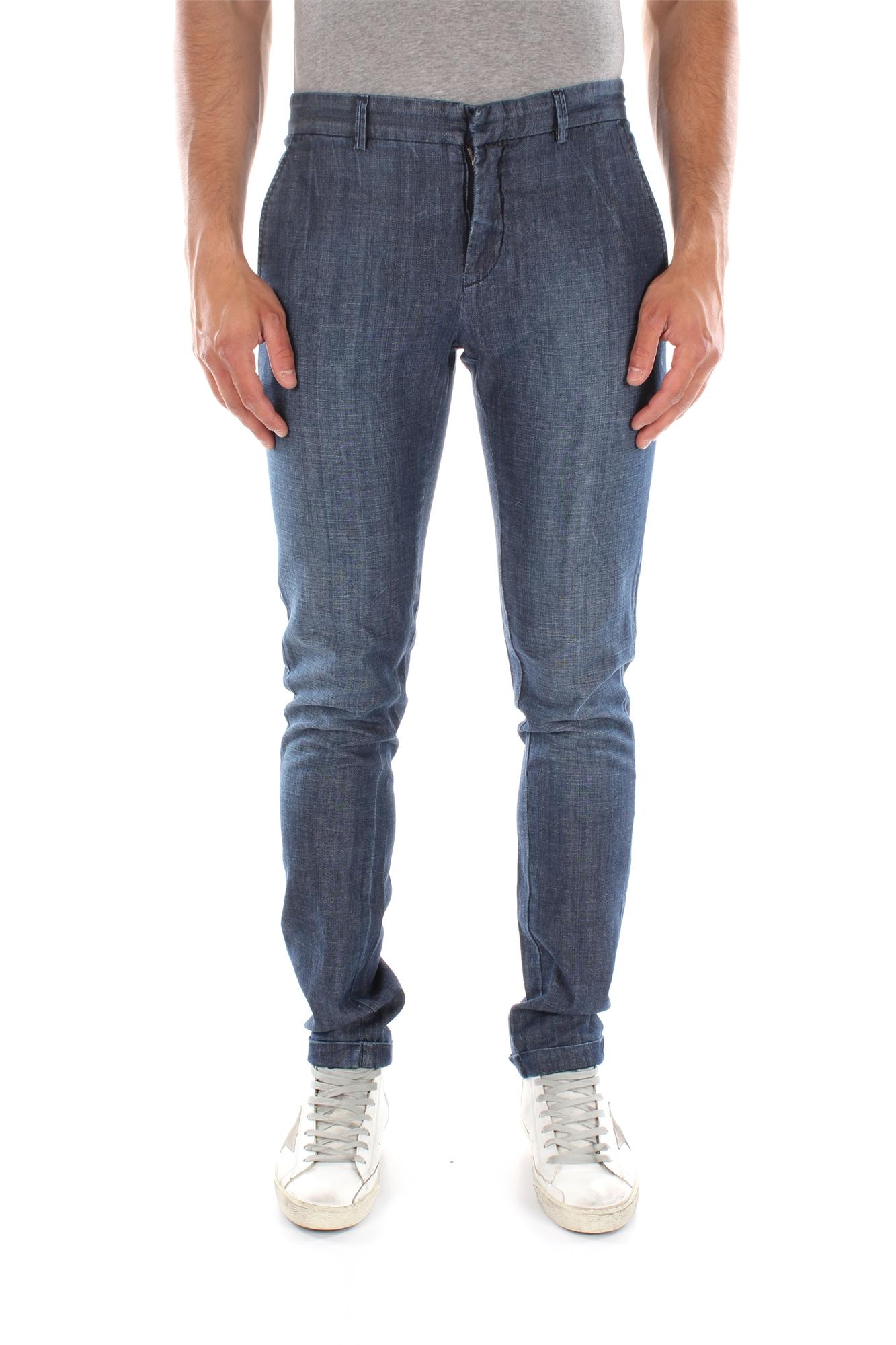 Jeans Pierre Balmain Men Cotton Blue 6M210008549700   eBay