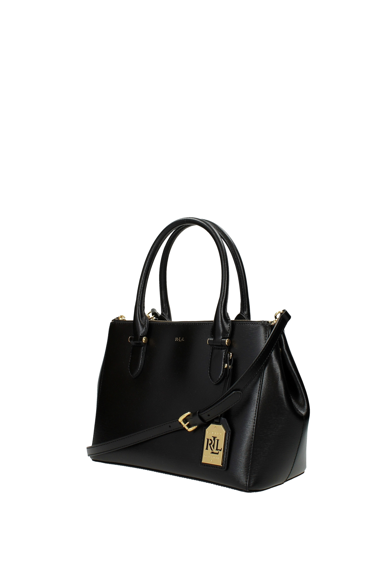 handtasche ralph lauren damen leder schwarz n91lndzsr2sc1vola7 ebay. Black Bedroom Furniture Sets. Home Design Ideas