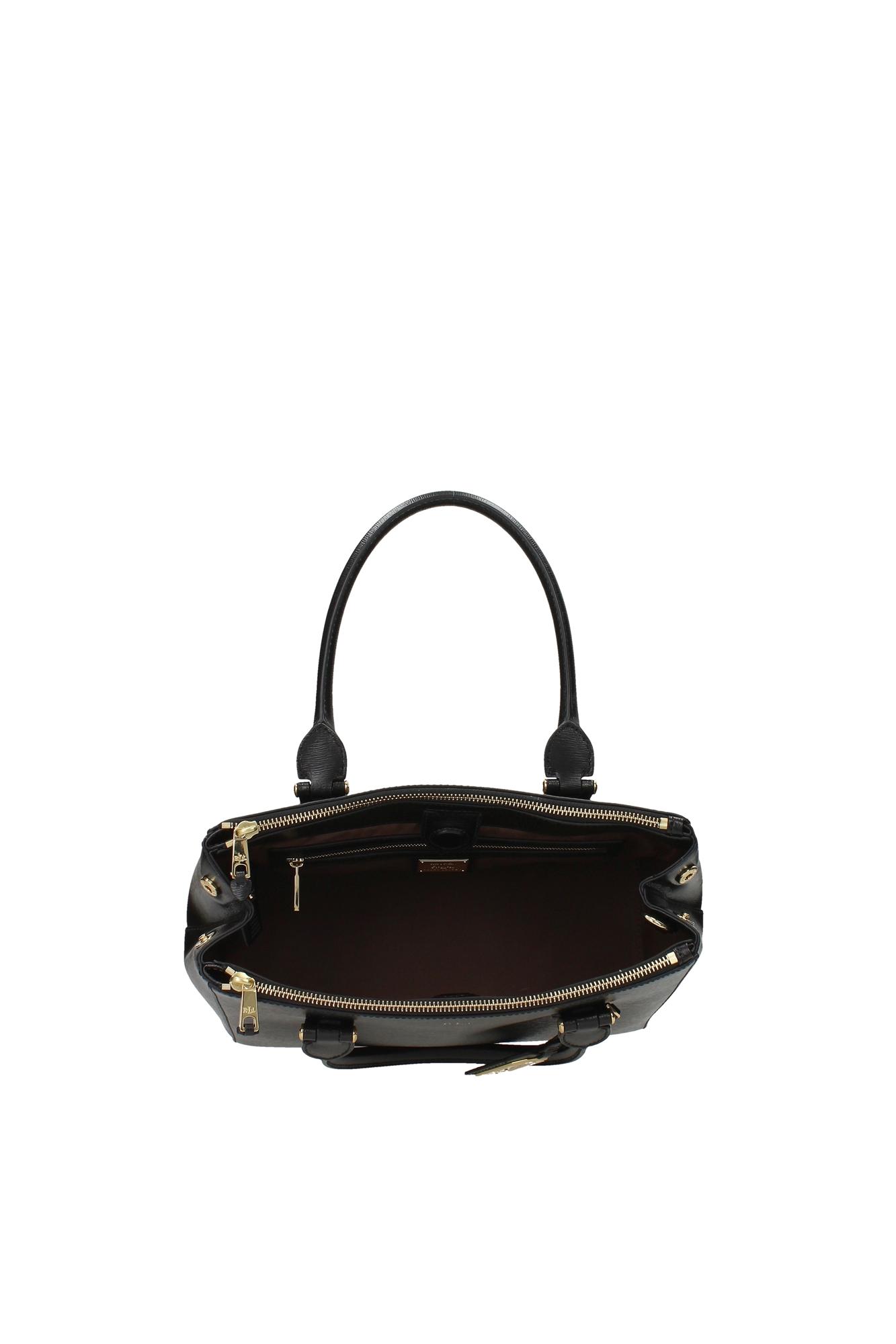 handtasche ralph lauren damen leder schwarz n91lndzsr2sc1vola7 ebay. Black Bedroom Furniture Sets. Home Design Ideas