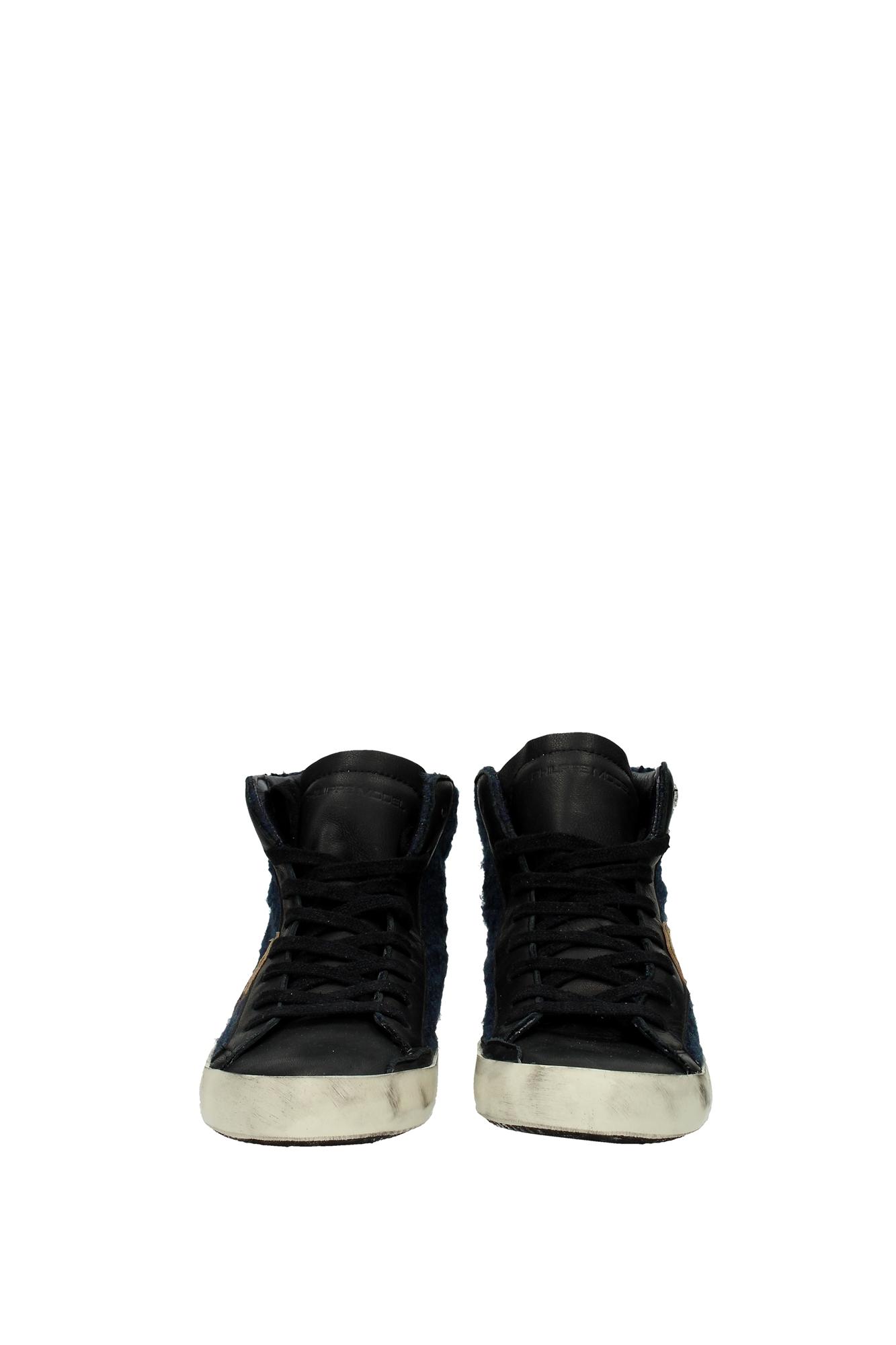 sneakers philippe model damen stoff schwarz clhddt01 ebay. Black Bedroom Furniture Sets. Home Design Ideas