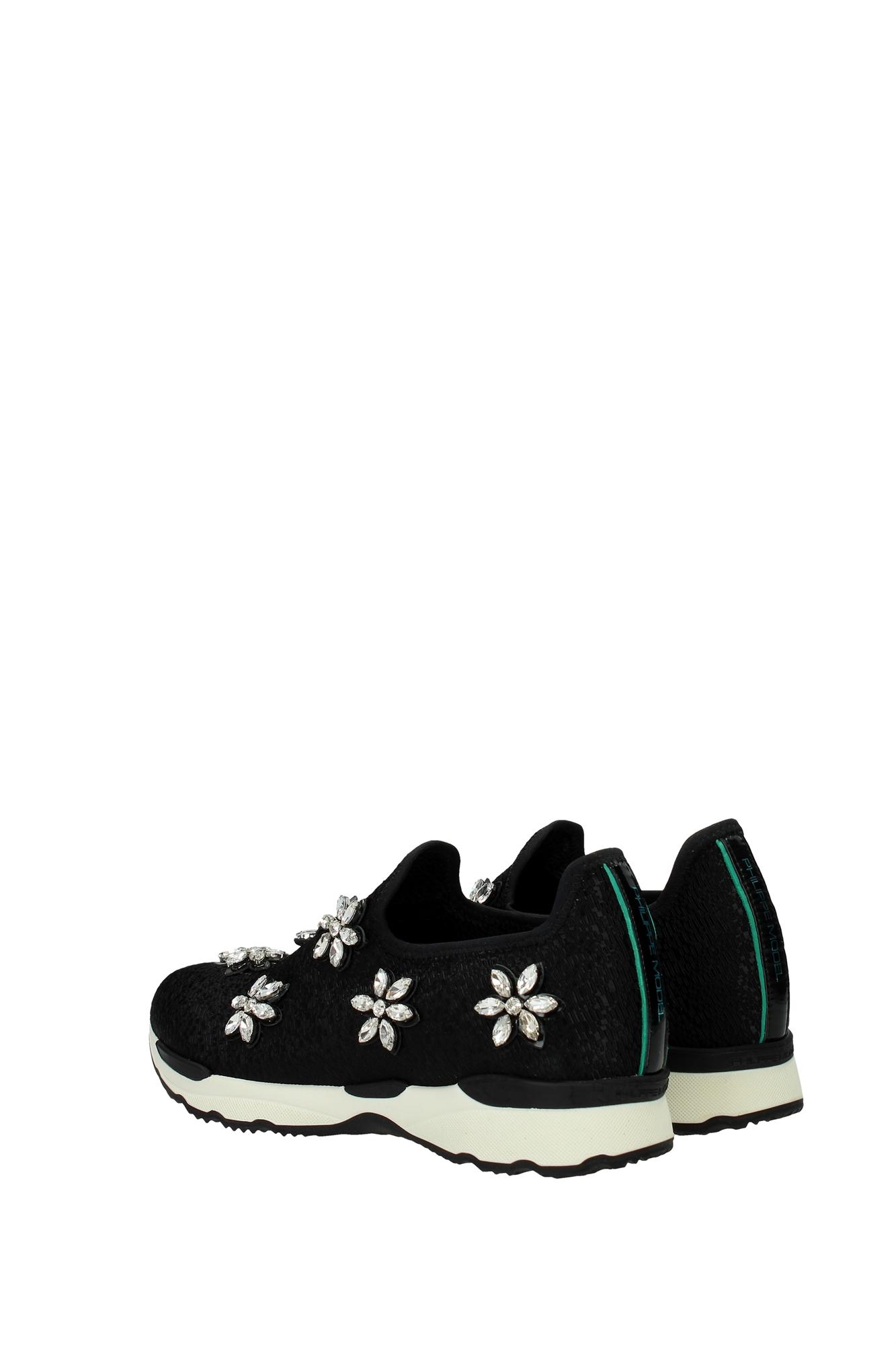 sneakers philippe model damen stoff schwarz ptldex03 ebay. Black Bedroom Furniture Sets. Home Design Ideas