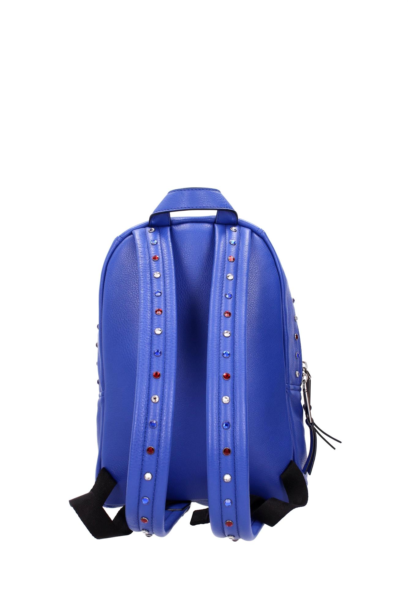 tasche rucksack marc jacobs damen leder blau m0008507434. Black Bedroom Furniture Sets. Home Design Ideas