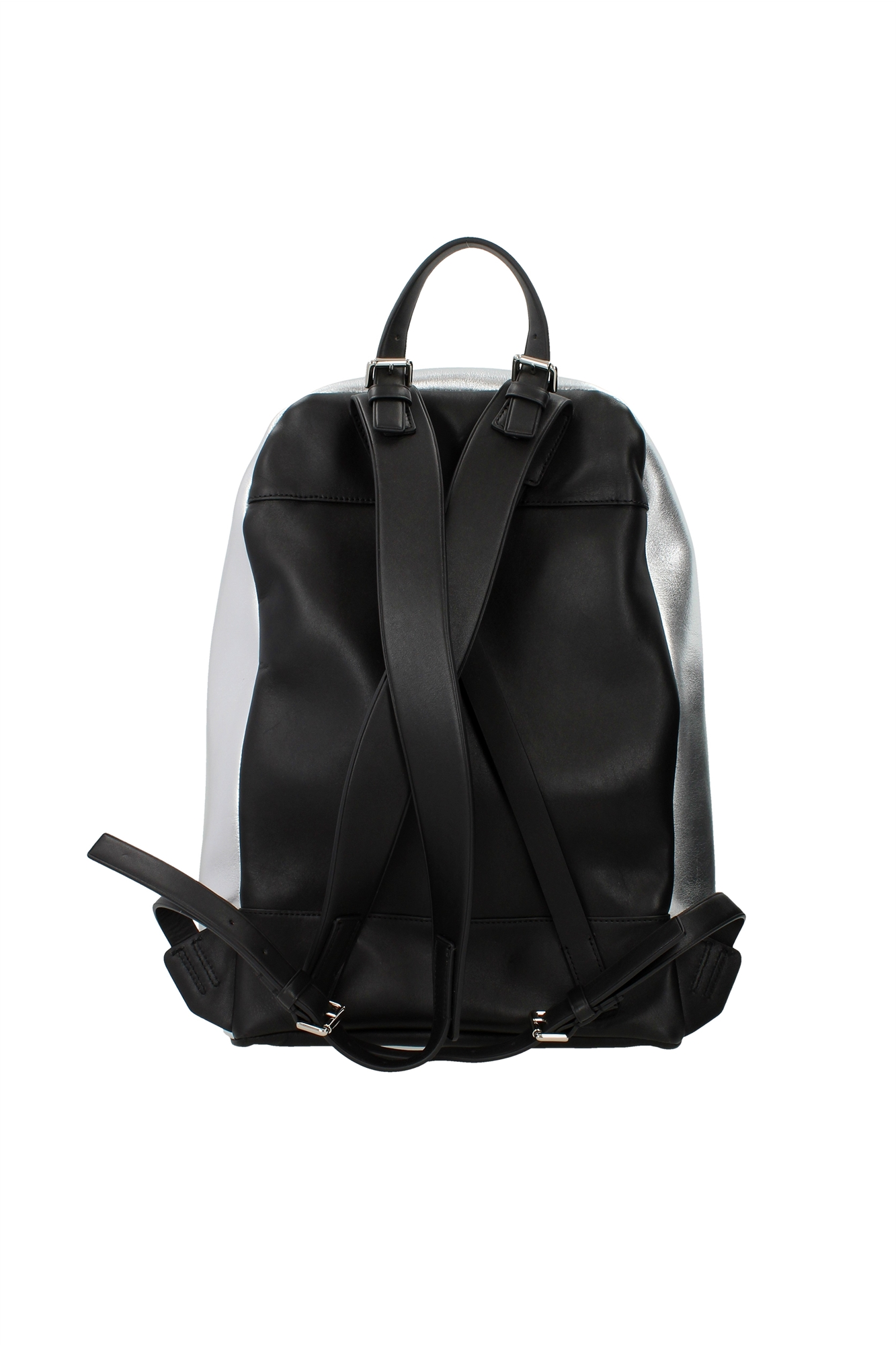 tasche rucksack 3 1 phillip lim herren leder silber ah15b015mnpmetallictin ebay. Black Bedroom Furniture Sets. Home Design Ideas