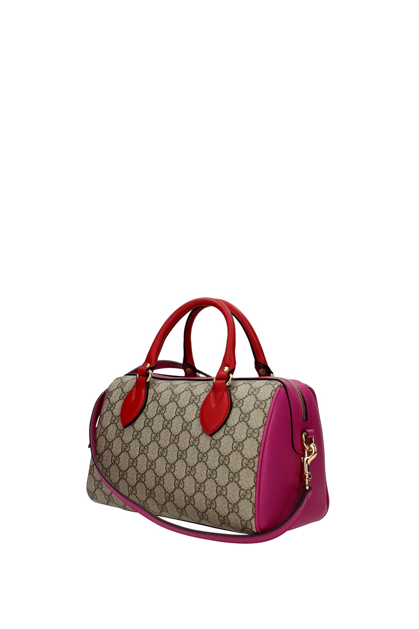 Bowling Bags Gucci Women Fabric Beige 4095299784 | EBay