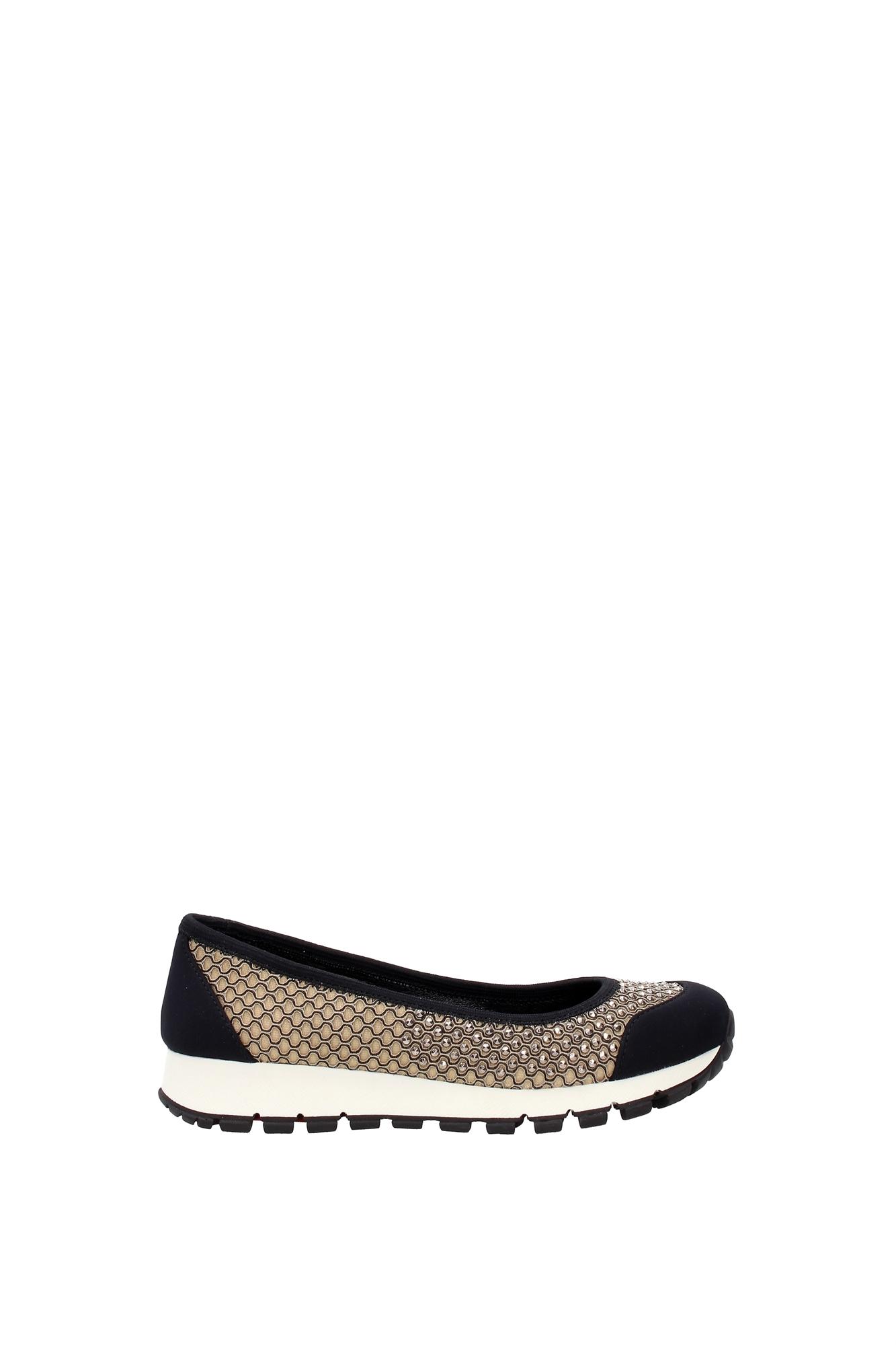 sneakers prada damen stoff beige 3f6158deserto ebay. Black Bedroom Furniture Sets. Home Design Ideas