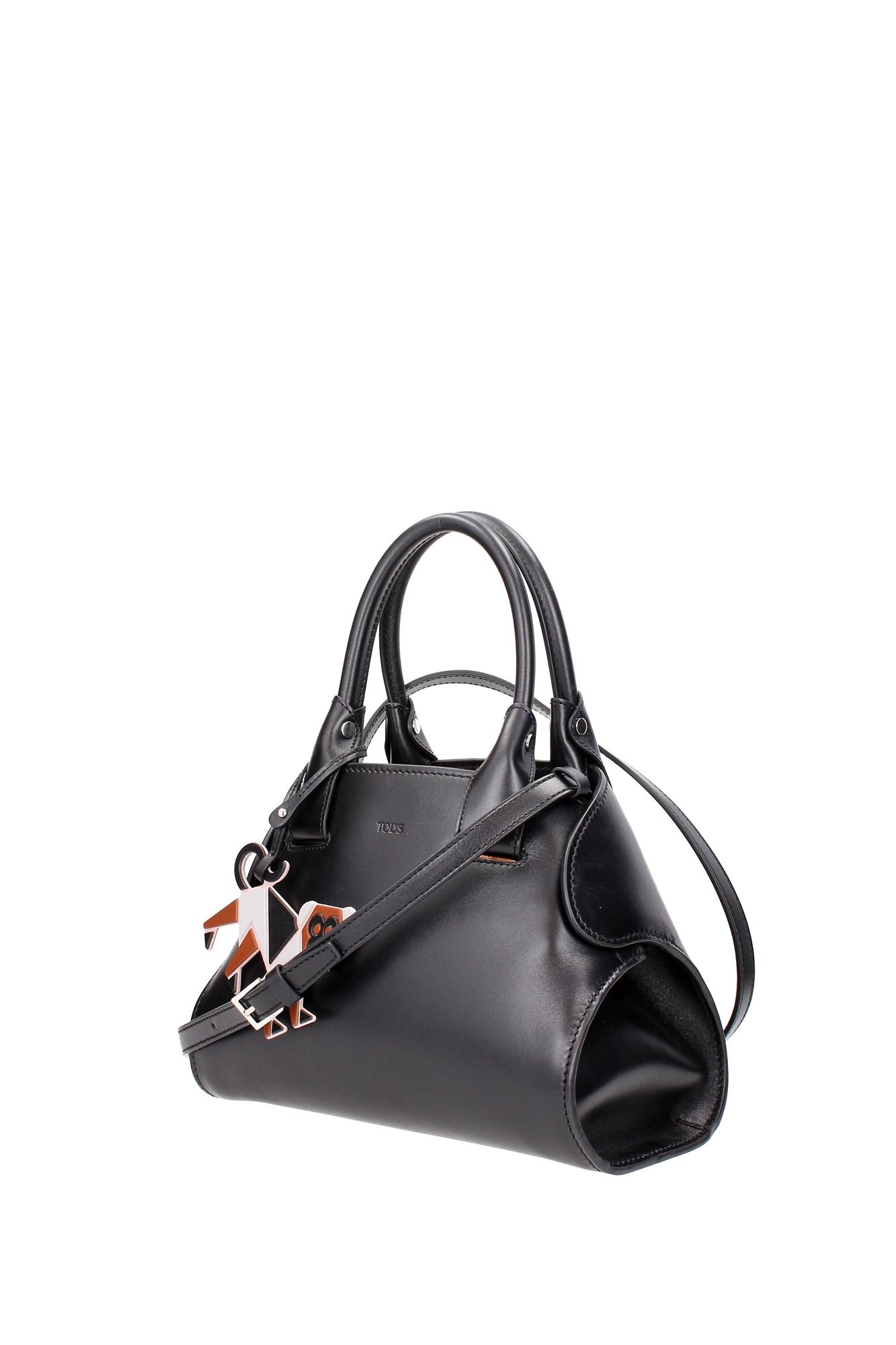 handtasche tod 39 s damen leder schwarz xbwamga71009ma01b9. Black Bedroom Furniture Sets. Home Design Ideas