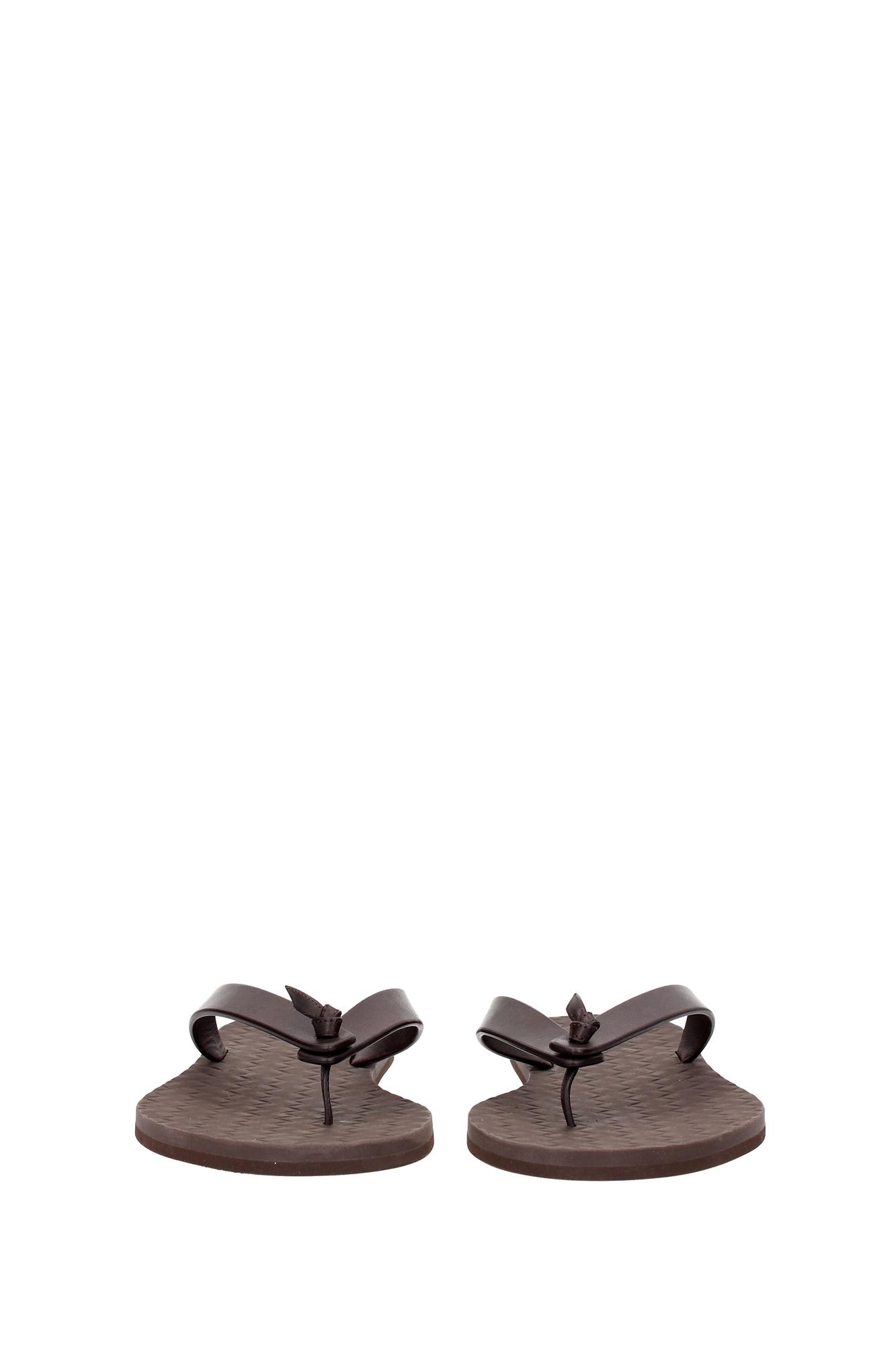 flip flops bottega veneta herren leder braun 298724vifh02037 ebay. Black Bedroom Furniture Sets. Home Design Ideas