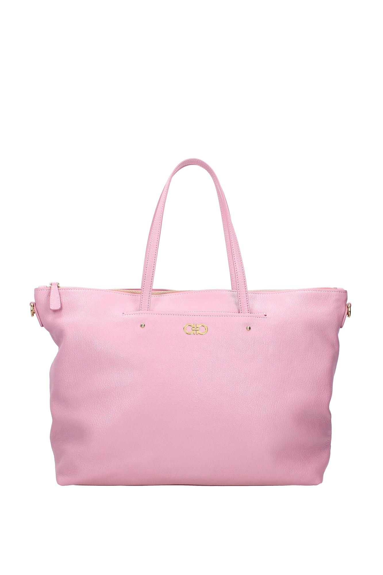 Borse Shopping Salvatore Ferragamo Donna Pelle Rosa 21f6510106322779 - salvatore ferragamo - ebay.it