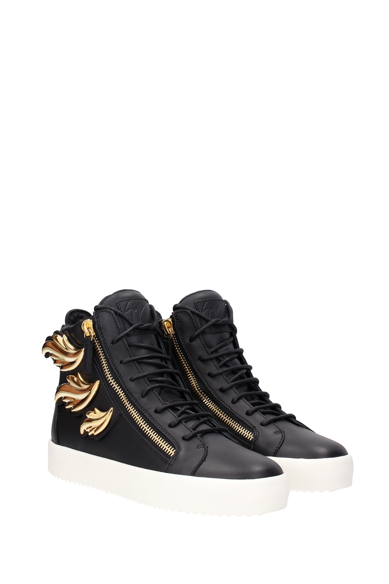 sneakers giuseppe zanotti herren leder schwarz rm6084maylondnero ebay. Black Bedroom Furniture Sets. Home Design Ideas