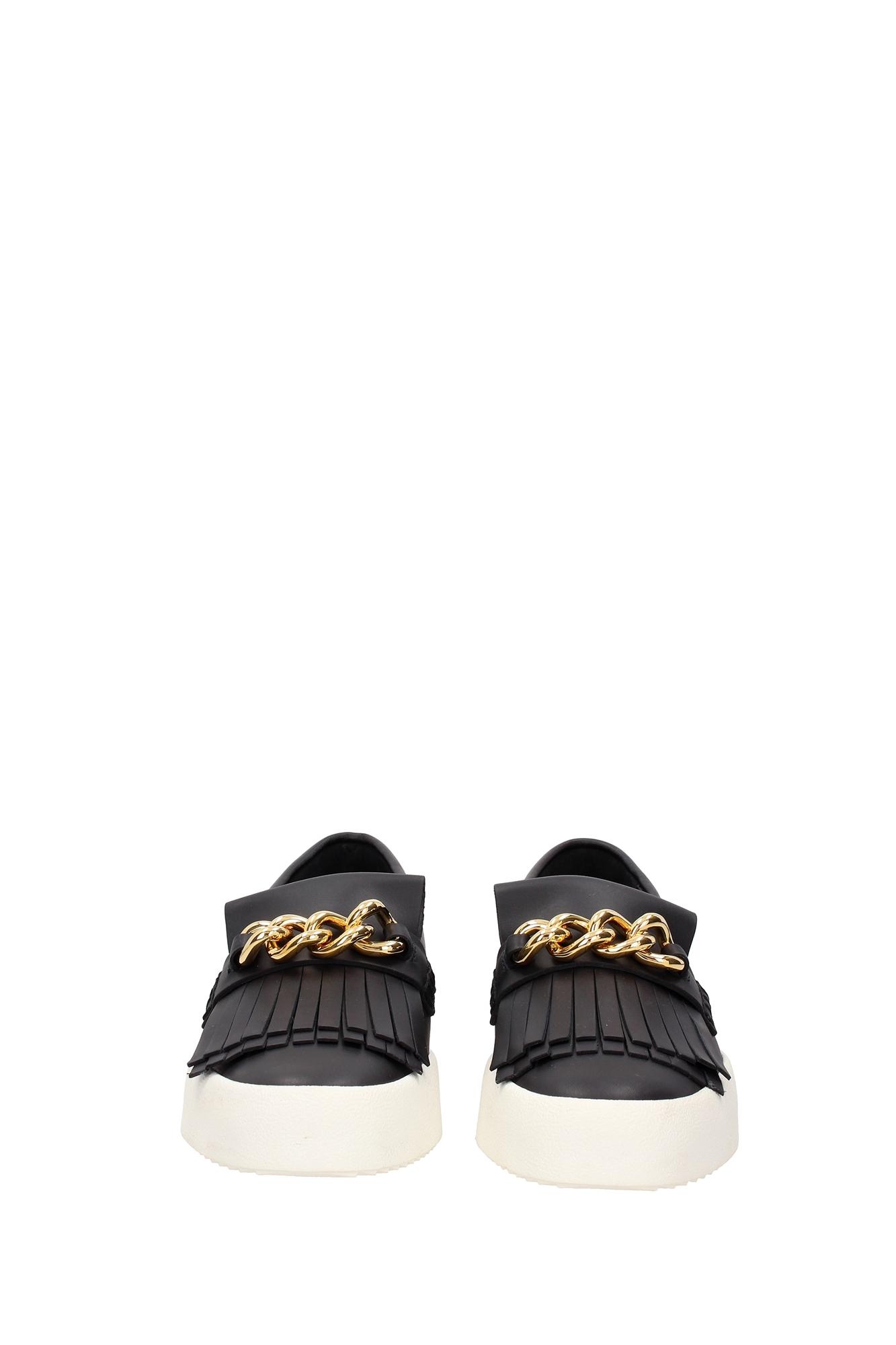 sneakers giuseppe zanotti herren leder schwarz rm6045maynero ebay. Black Bedroom Furniture Sets. Home Design Ideas