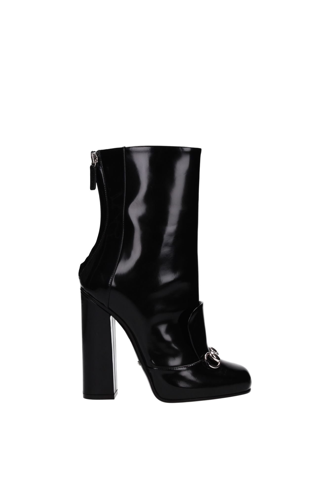 Ankle Boots Gucci Women Leather Black 363803CLG001000   eBay