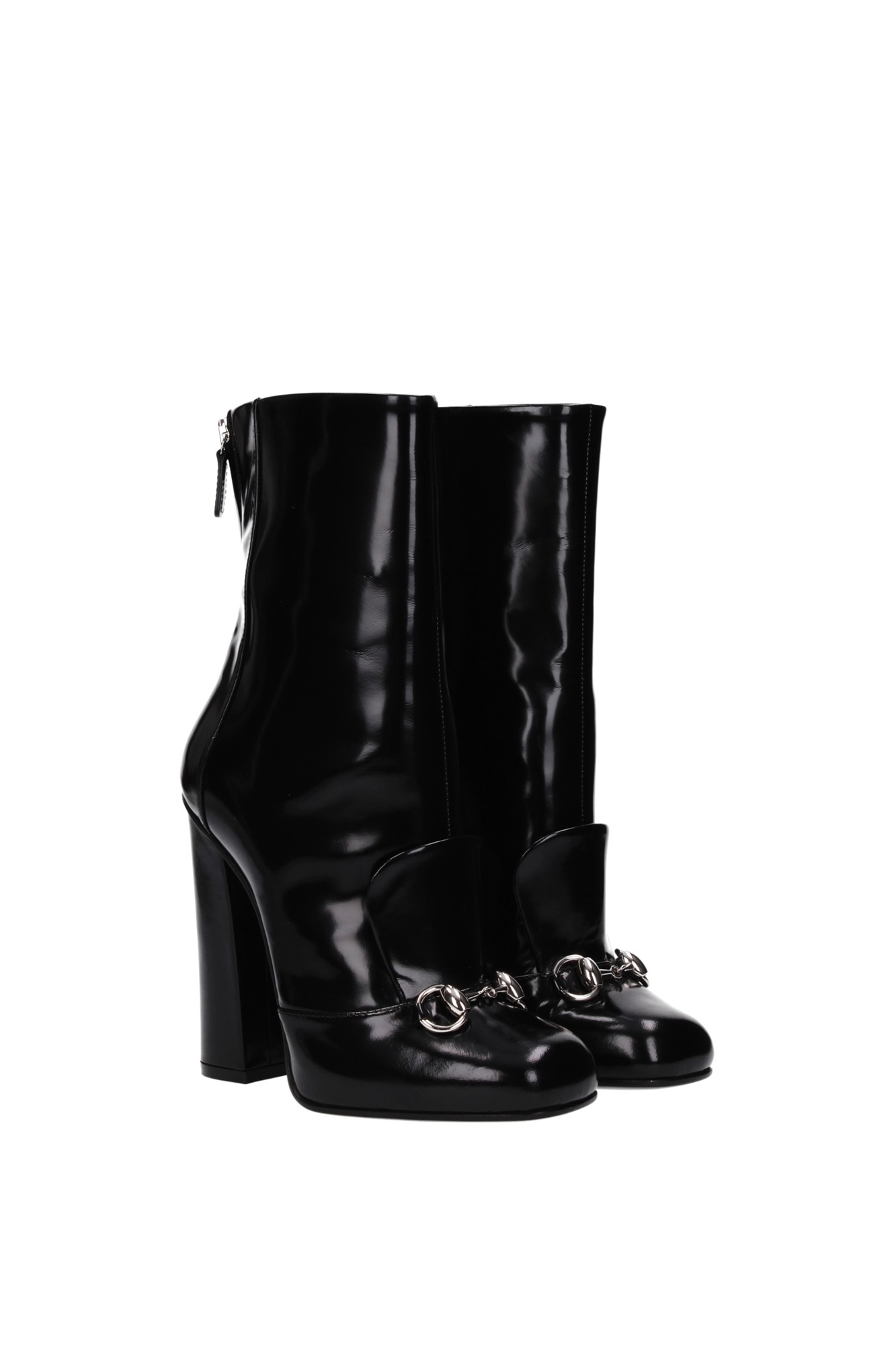 Ankle Boots Gucci Women Leather Black 363803CLG001000 | eBay