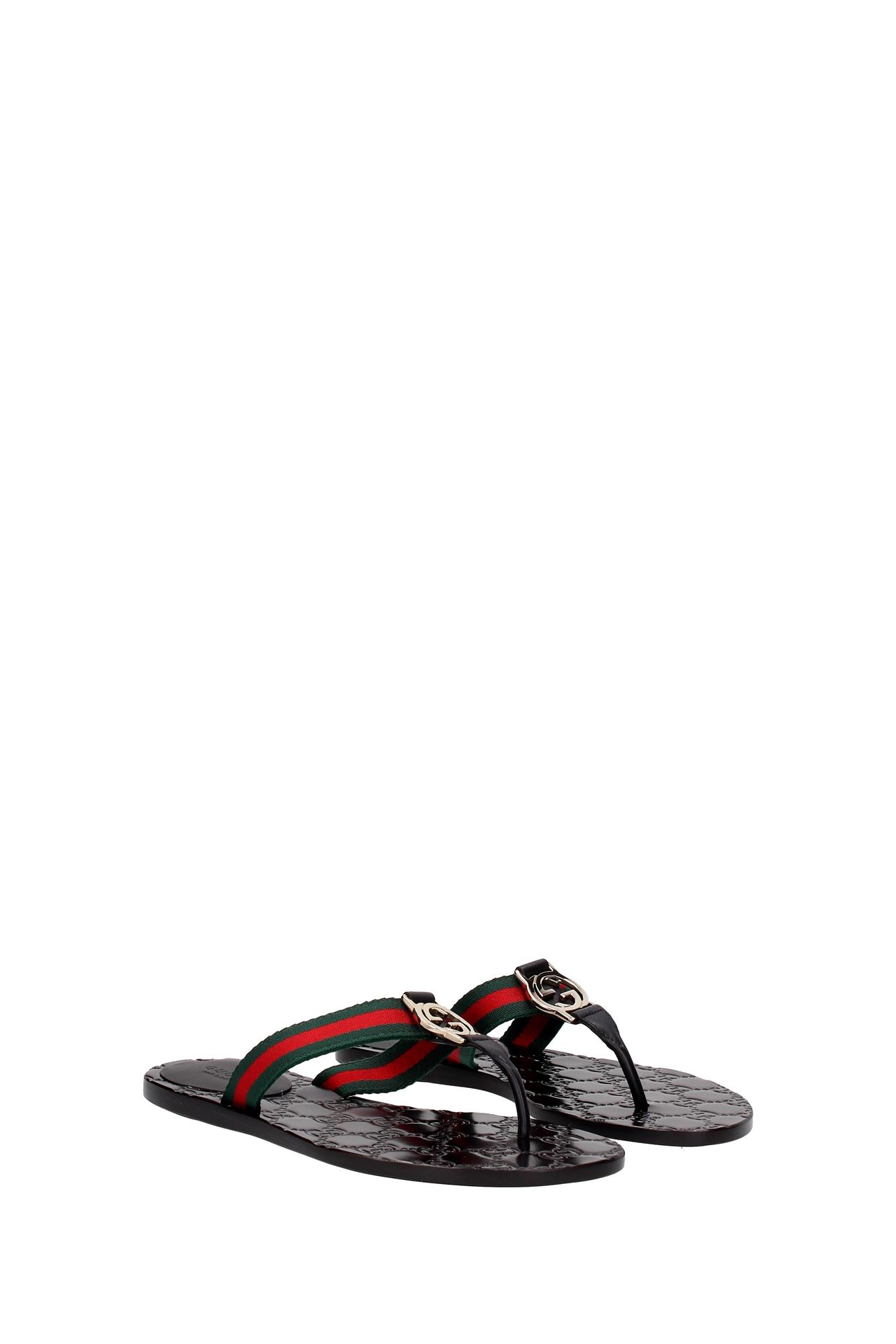 Stoff Flip Flops : flip flops gucci damen stoff schwarz 270374h90208476 ebay ~ Frokenaadalensverden.com Haus und Dekorationen
