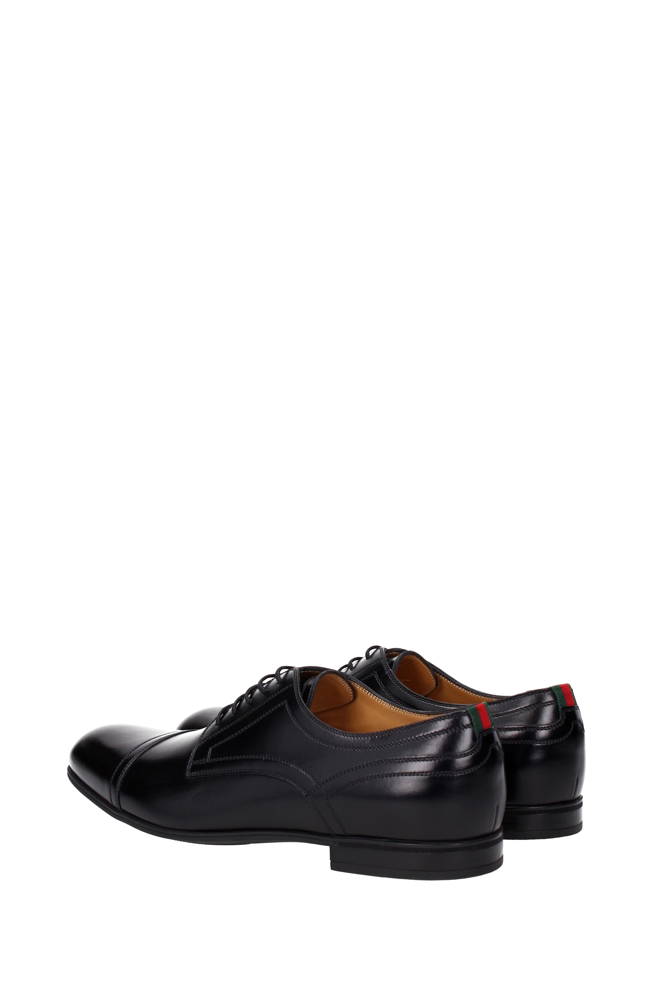 lace up shoes gucci leather black 429211azm301060 ebay