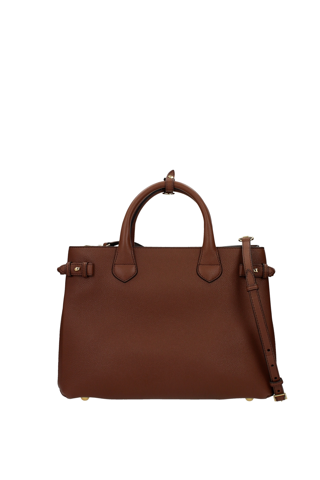 Hand Bags Burberry Women Leather Brown 3980794 | eBay