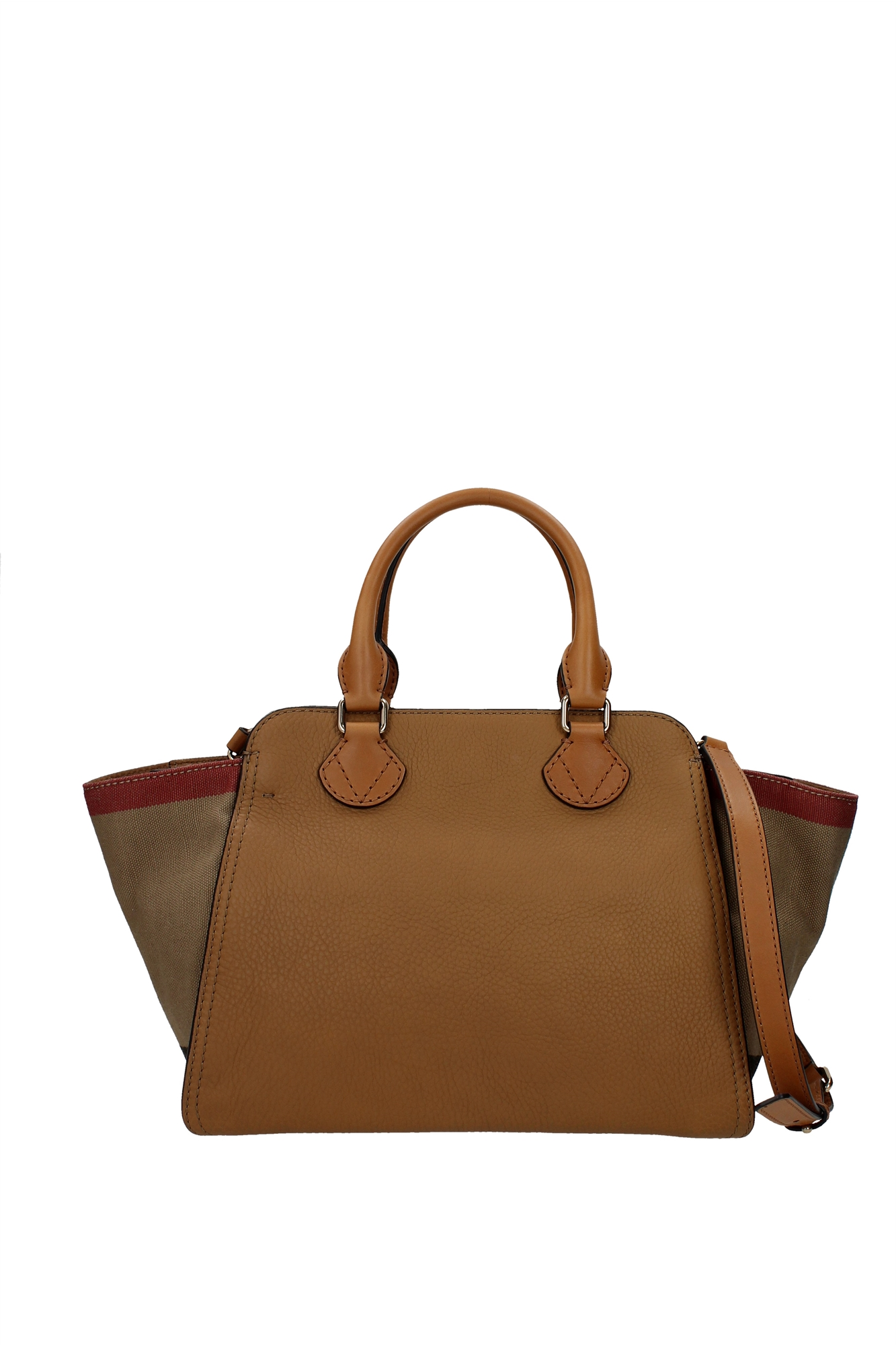 Hand Bags Burberry Women Leather Brown 3992188 | eBay