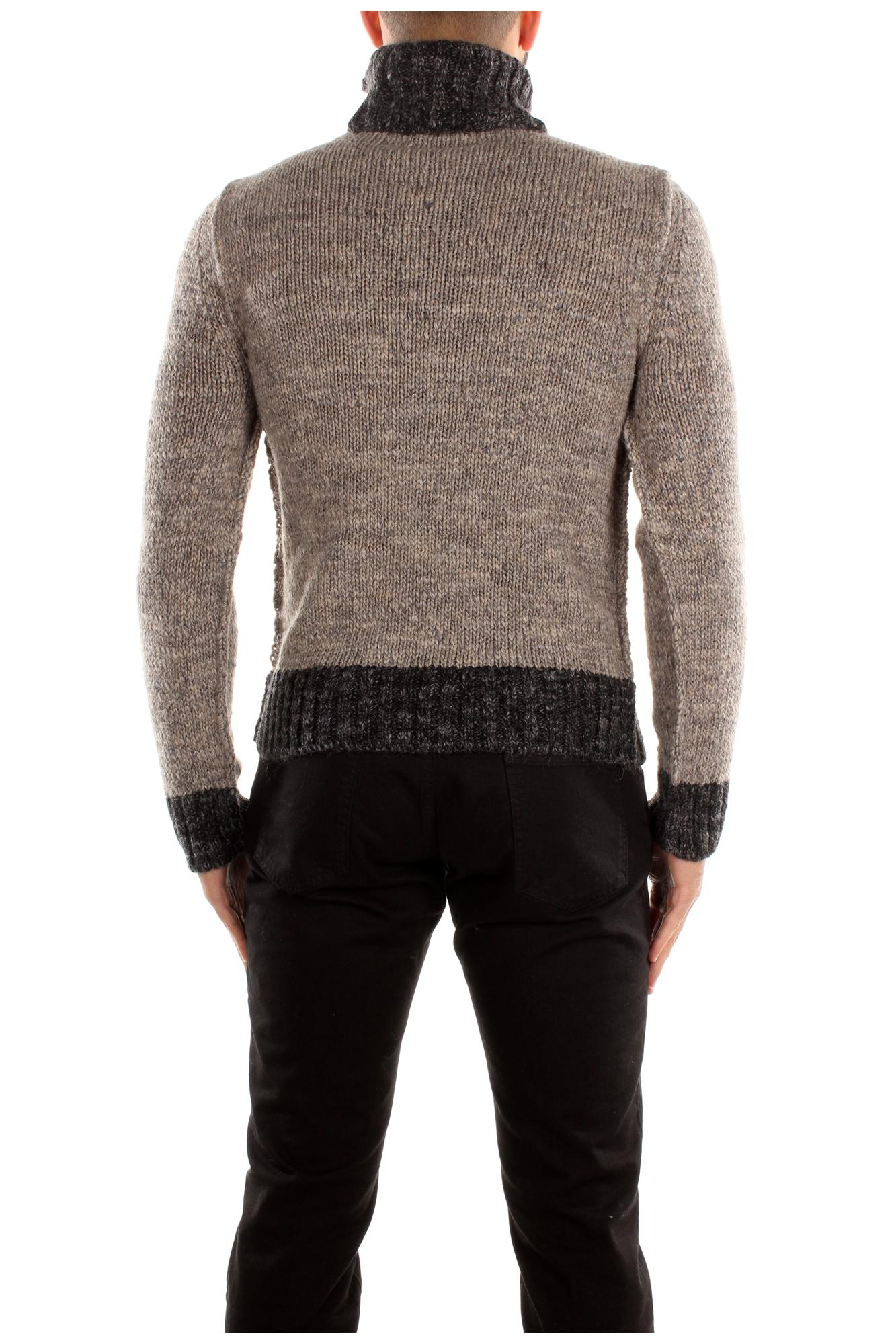 sweatshirts dolce gabbana herren wolle grau. Black Bedroom Furniture Sets. Home Design Ideas