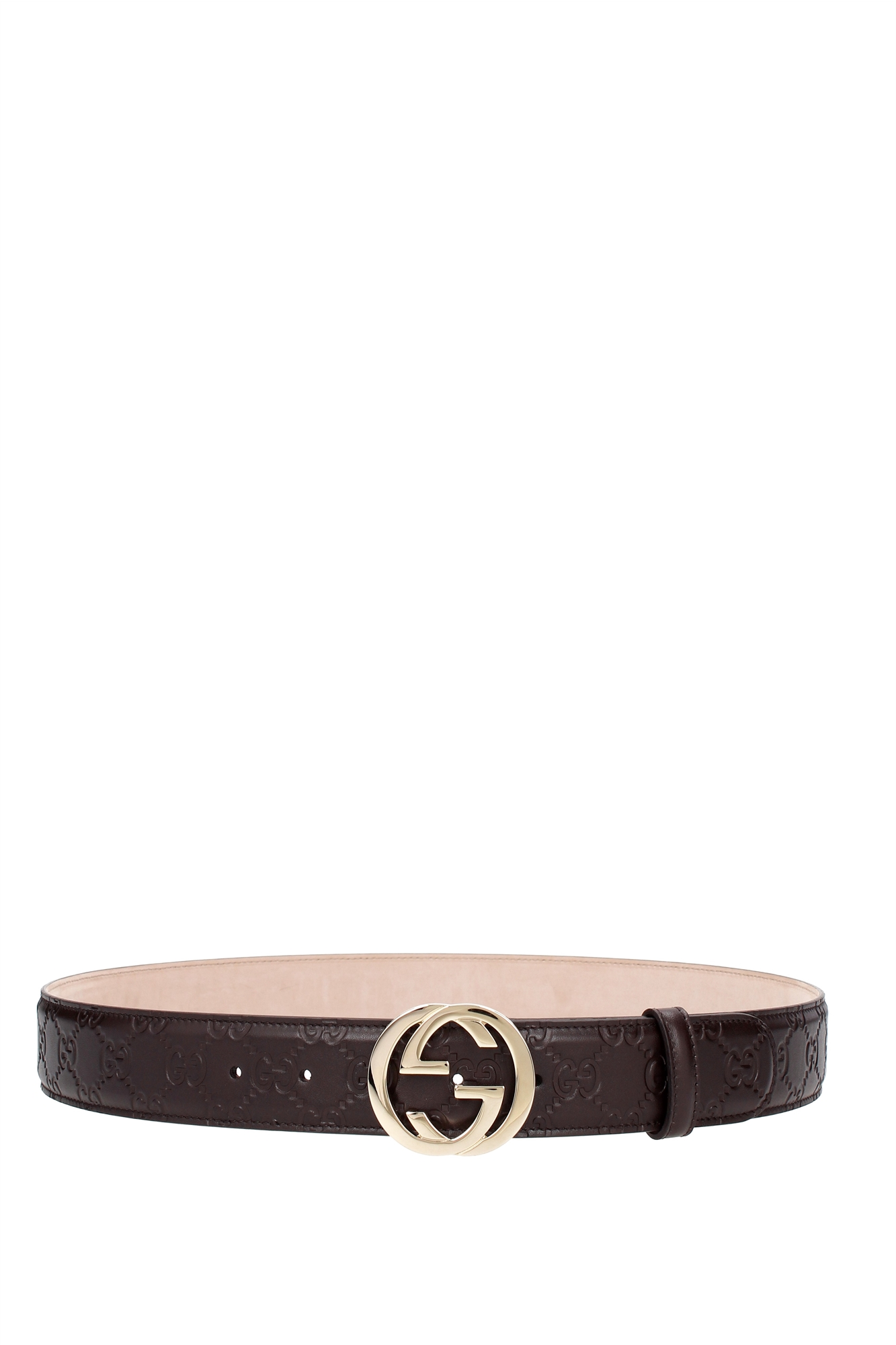 Belts Gucci Women Leather Brown 370543CWC1G2140
