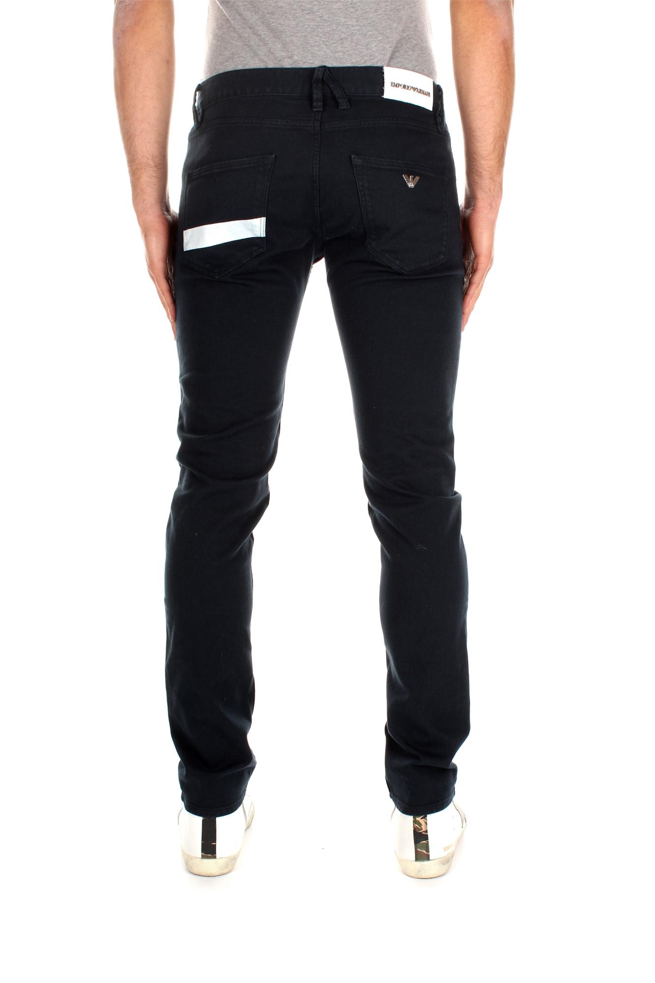 jeans armani emporio herren baumwolle blau cnj08lfc8 ebay. Black Bedroom Furniture Sets. Home Design Ideas