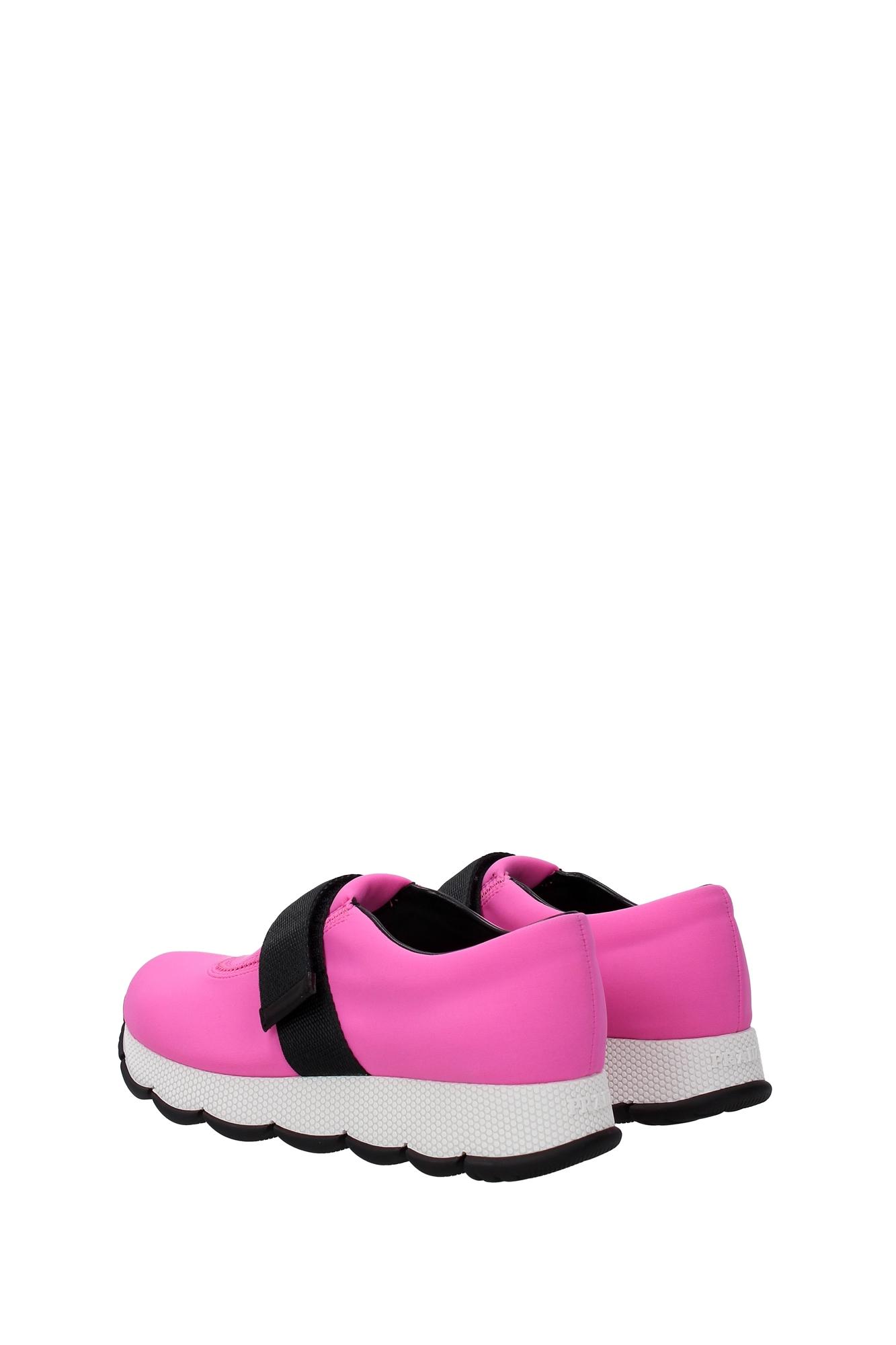 sneakers prada fabric pink 3s6179begonia ebay