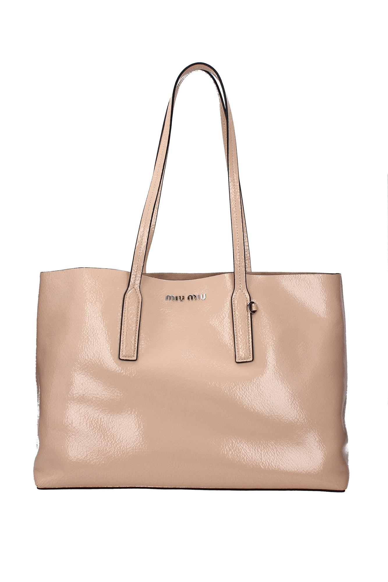 Borse Shopping Miu Miu Donna Pelle Rosa 5bg024cipria - miu miu - ebay.it