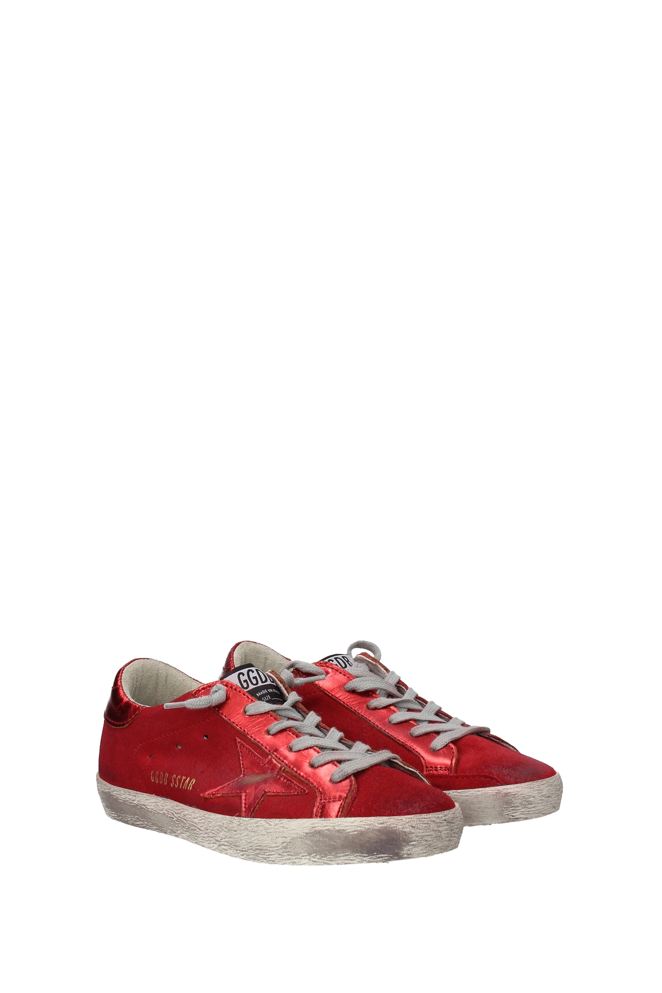 sneakers golden goose damen wildleder rot g29ws590a80 ebay. Black Bedroom Furniture Sets. Home Design Ideas