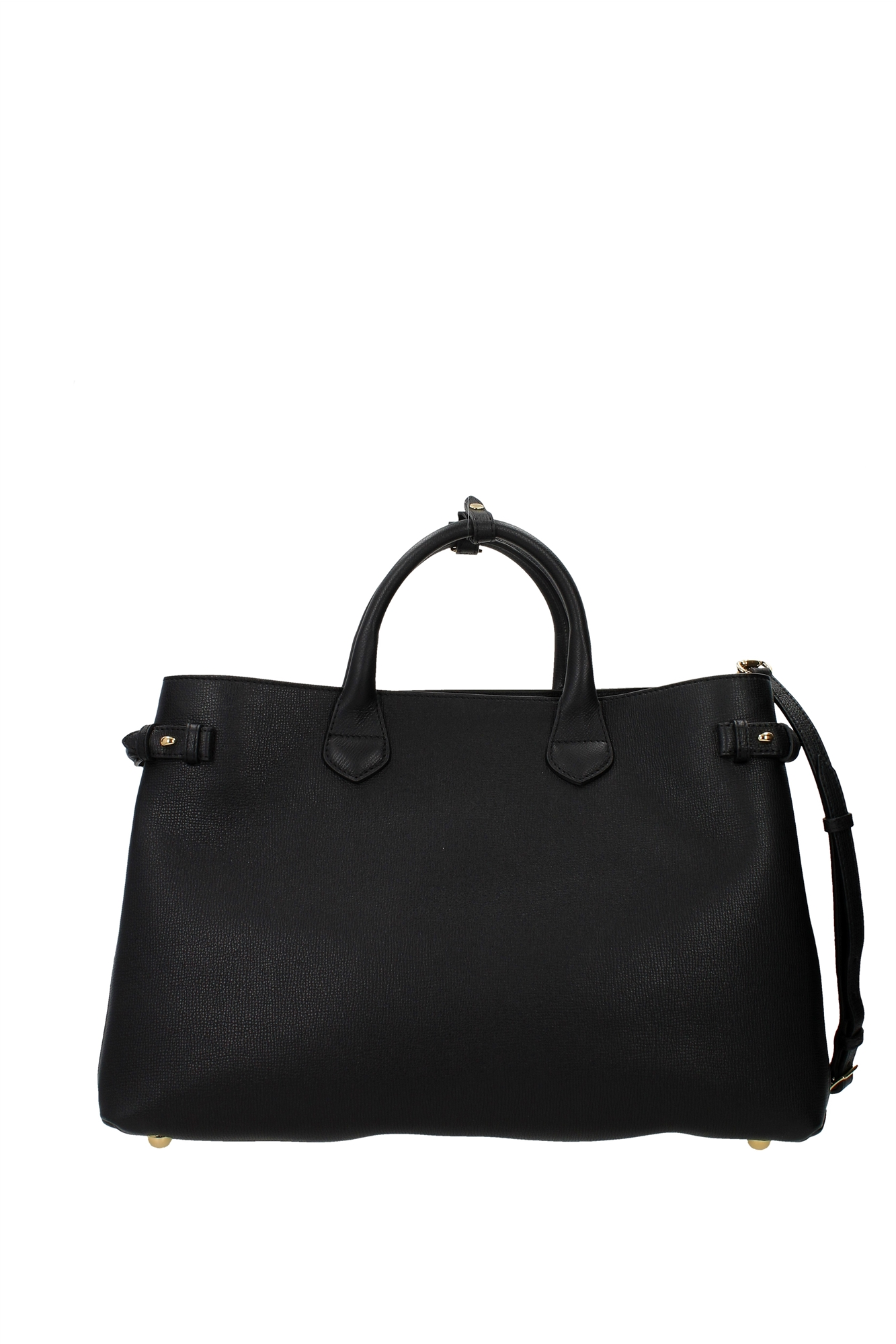 Hand Bags Burberry Women Leather Black 39627391