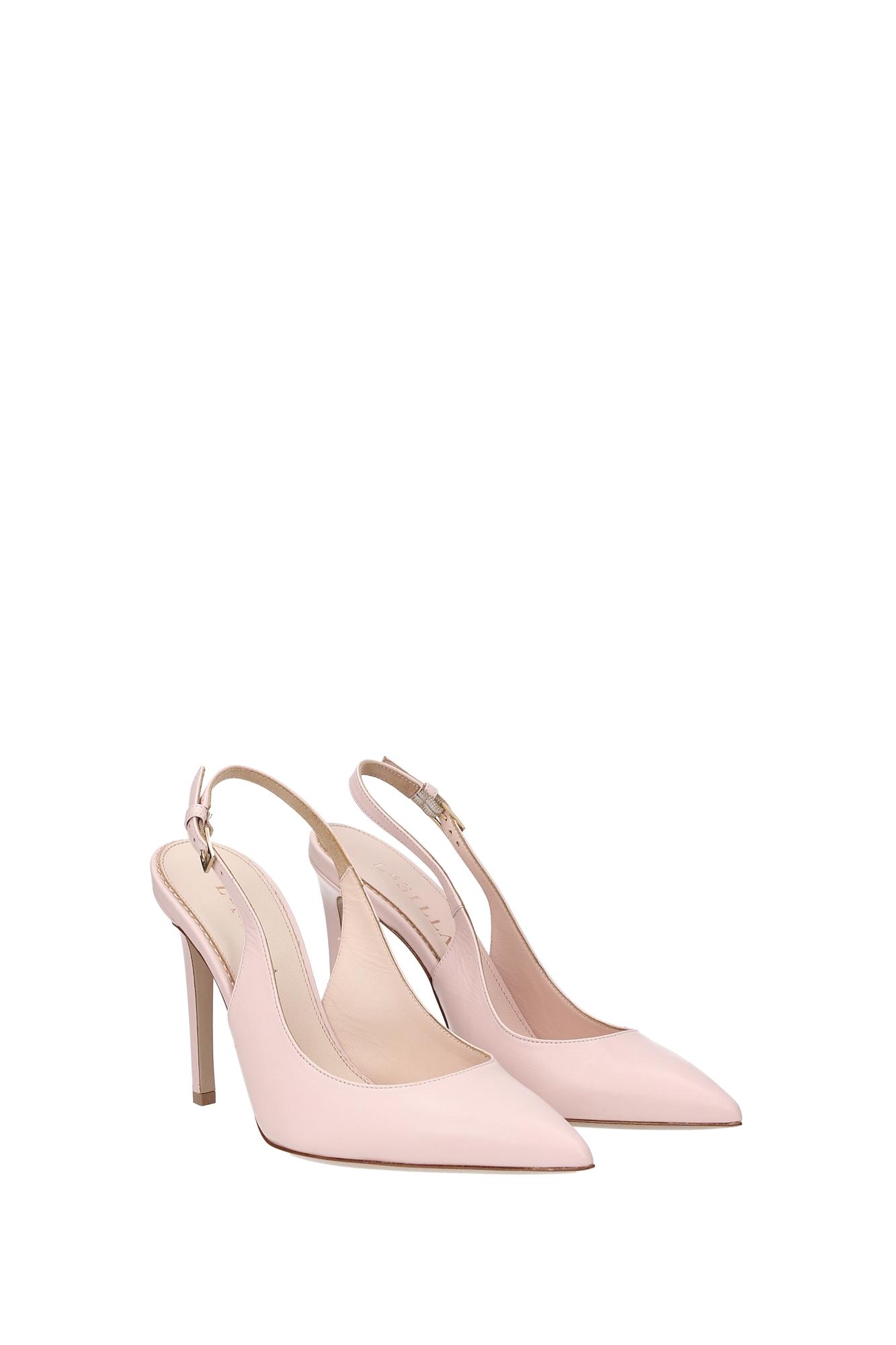 sandalen le silla damen leder rosa d21099rosa ebay. Black Bedroom Furniture Sets. Home Design Ideas