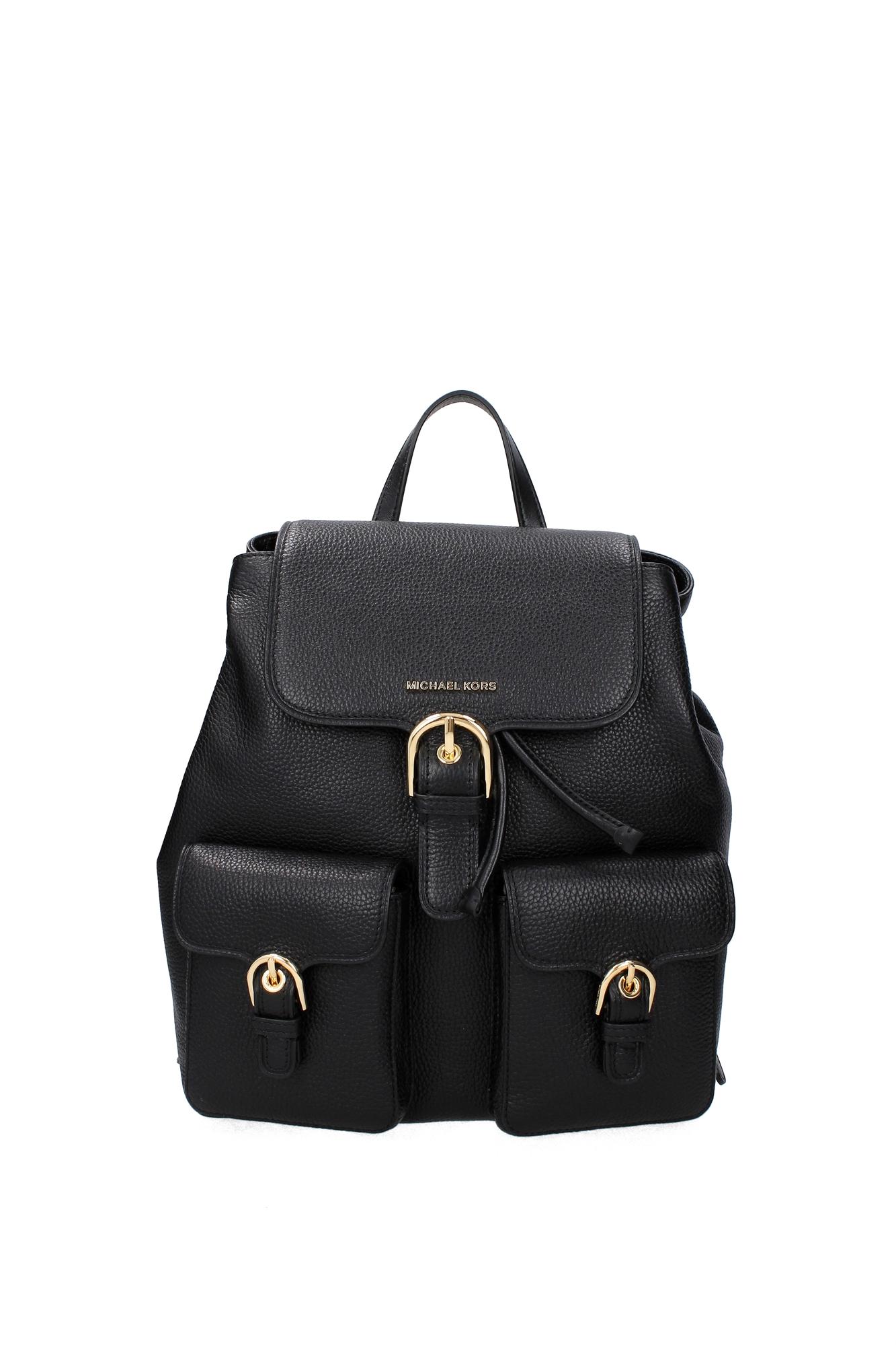 Michael kors bags ebay philippines - Image Is Loading Bags Backpack Michael Kors Women Leather Black 30s7gpcb7lblack