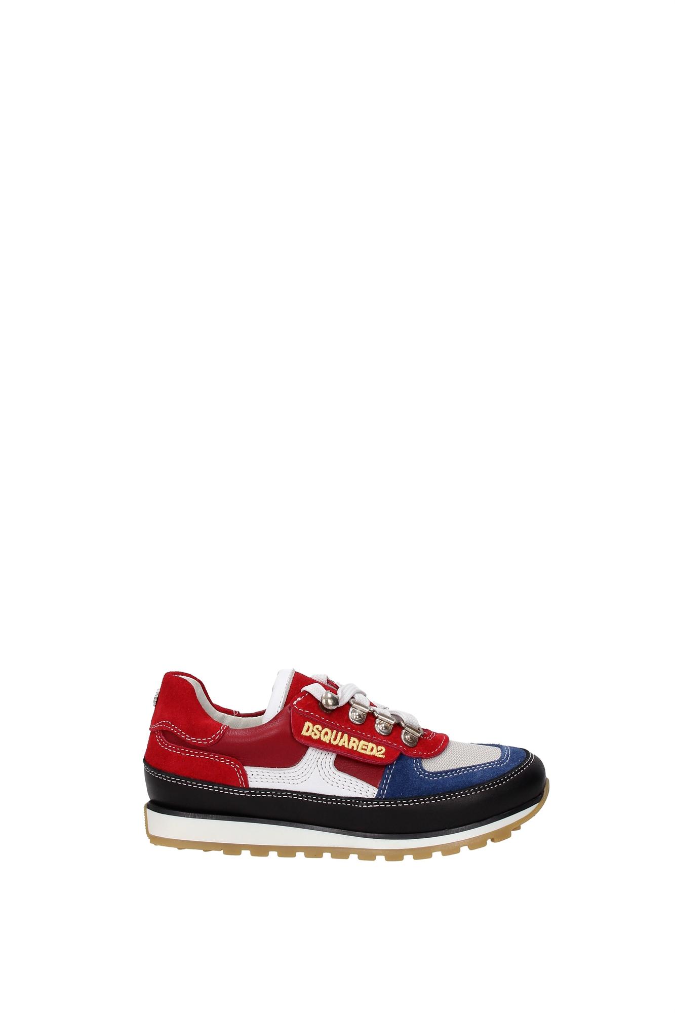 Sneakers Dsquared2 Bambino Pelle Multicolore 39376kipsnero - dsquared2 - ebay.it